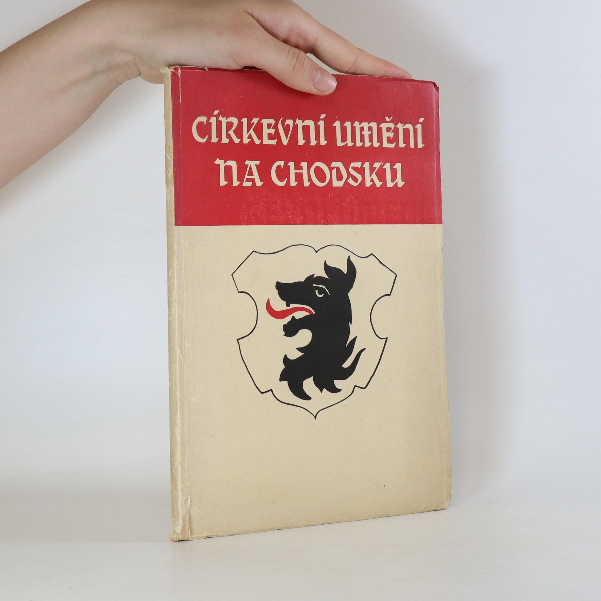 antikvární kniha Církevní umění na Chodsku, 1939