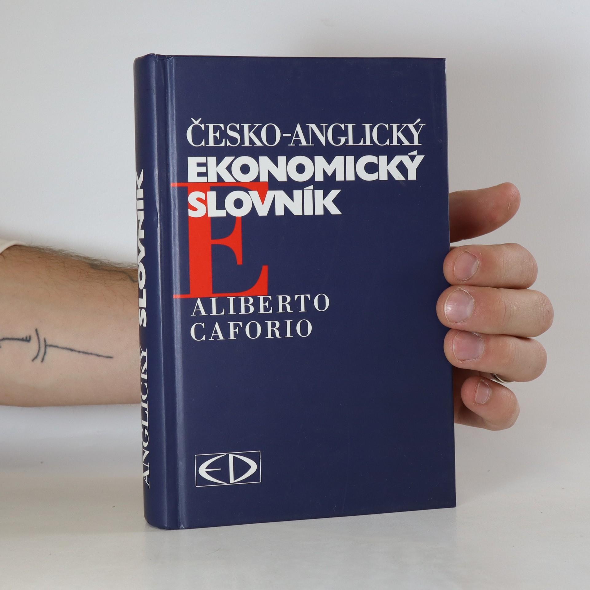 antikvární kniha Česko-anglický ekonomický slovník, 1996
