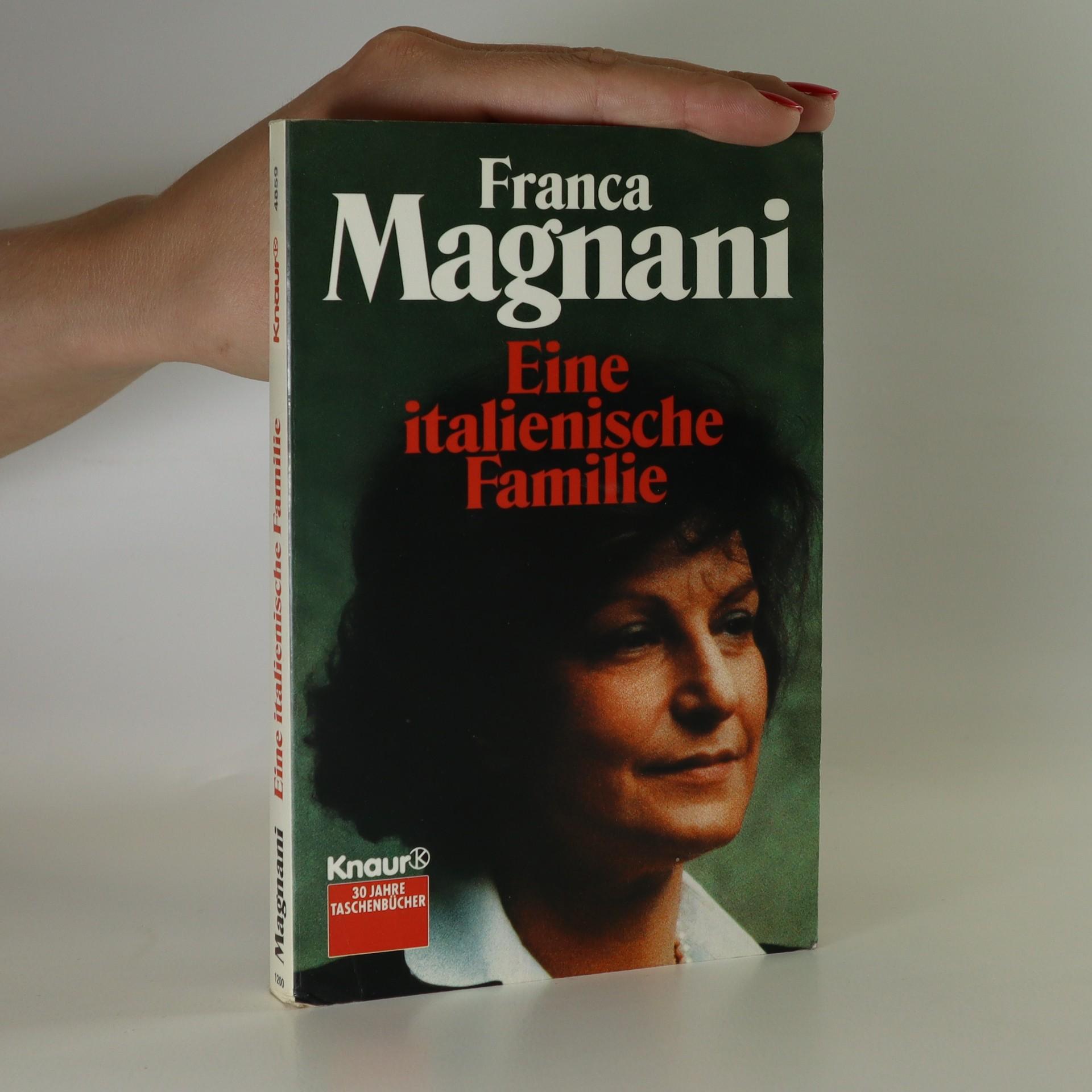 antikvární kniha Eine italienische Familie, 1993