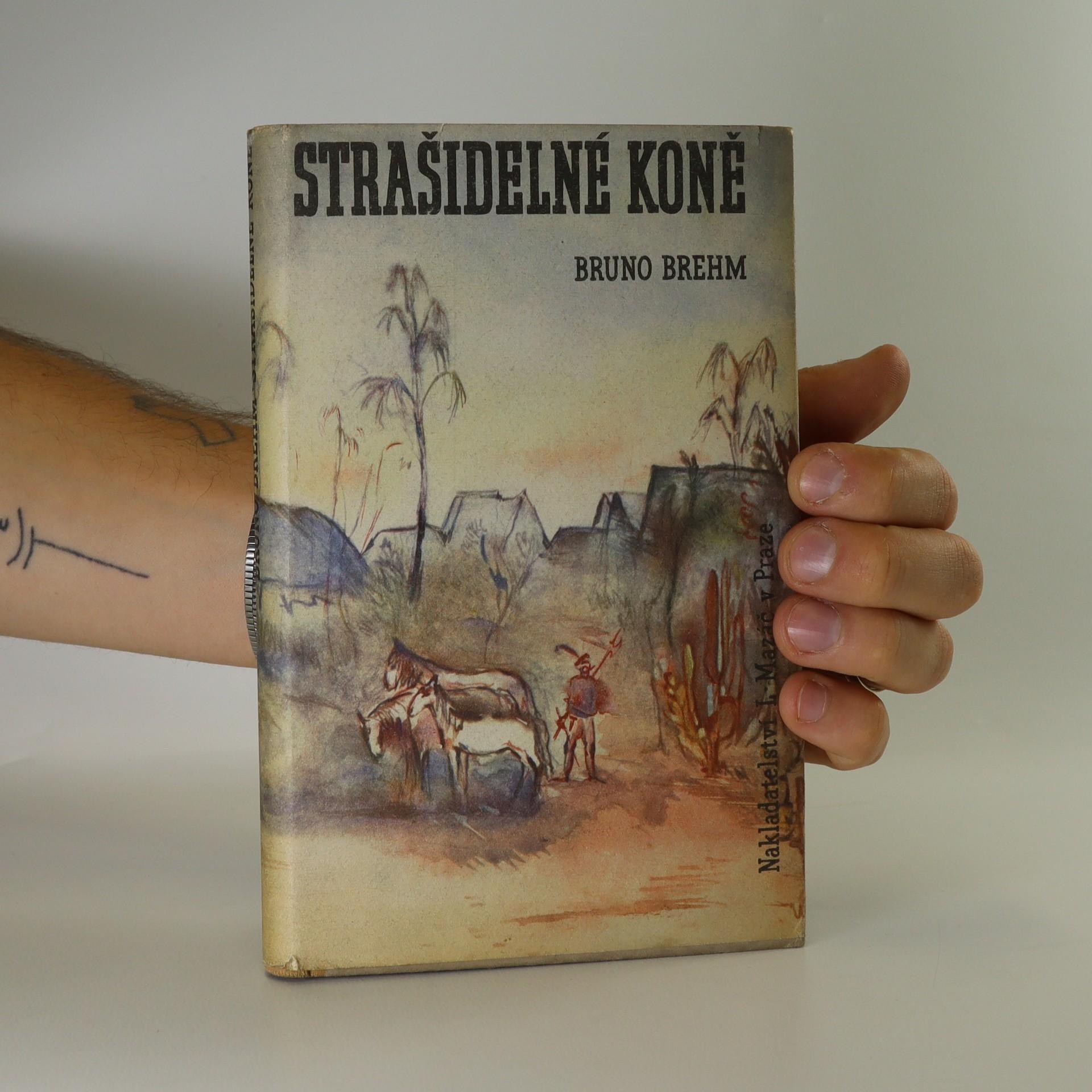 antikvární kniha Strašidelné koně, 1941