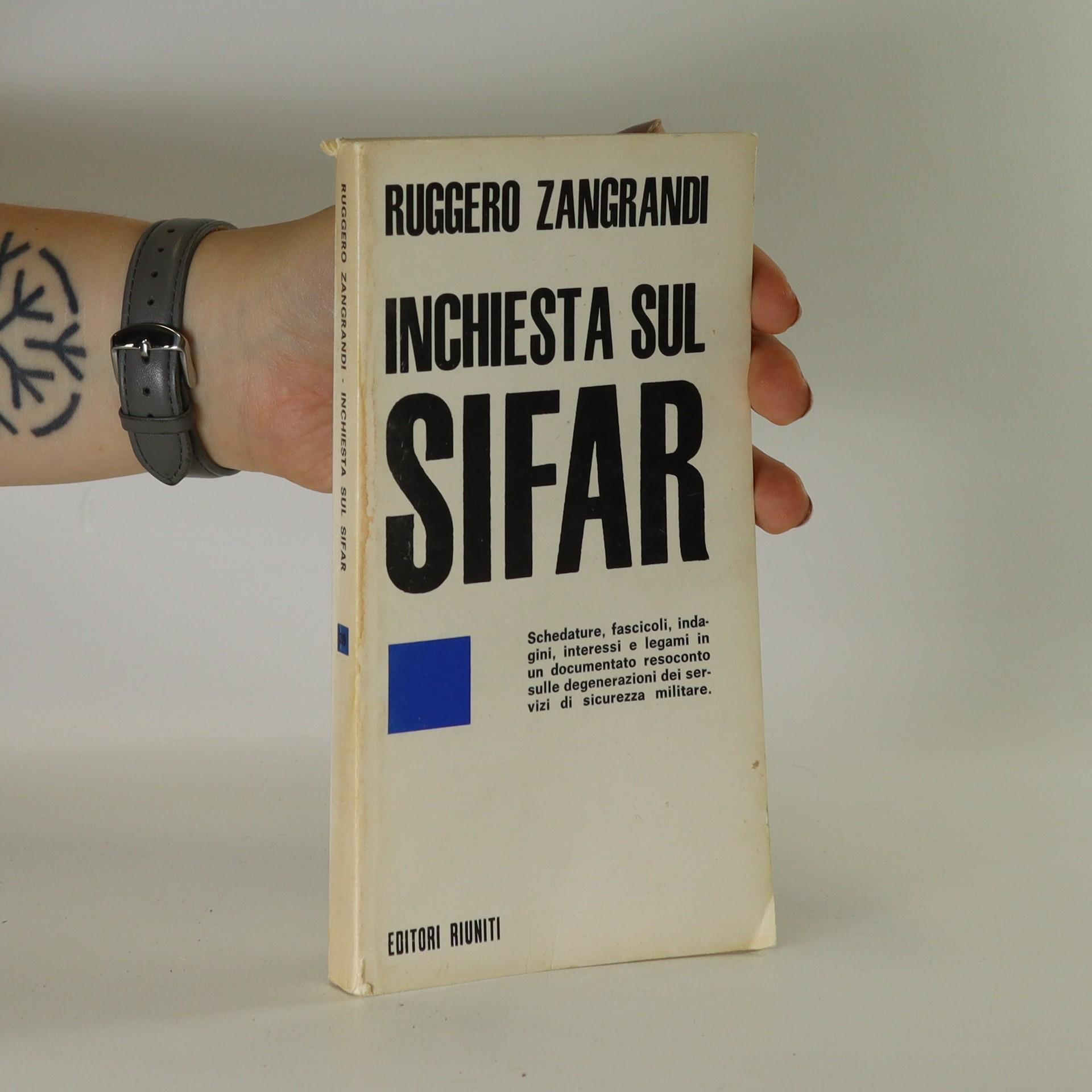 antikvární kniha Inchiesta sul SIFAR, 1970
