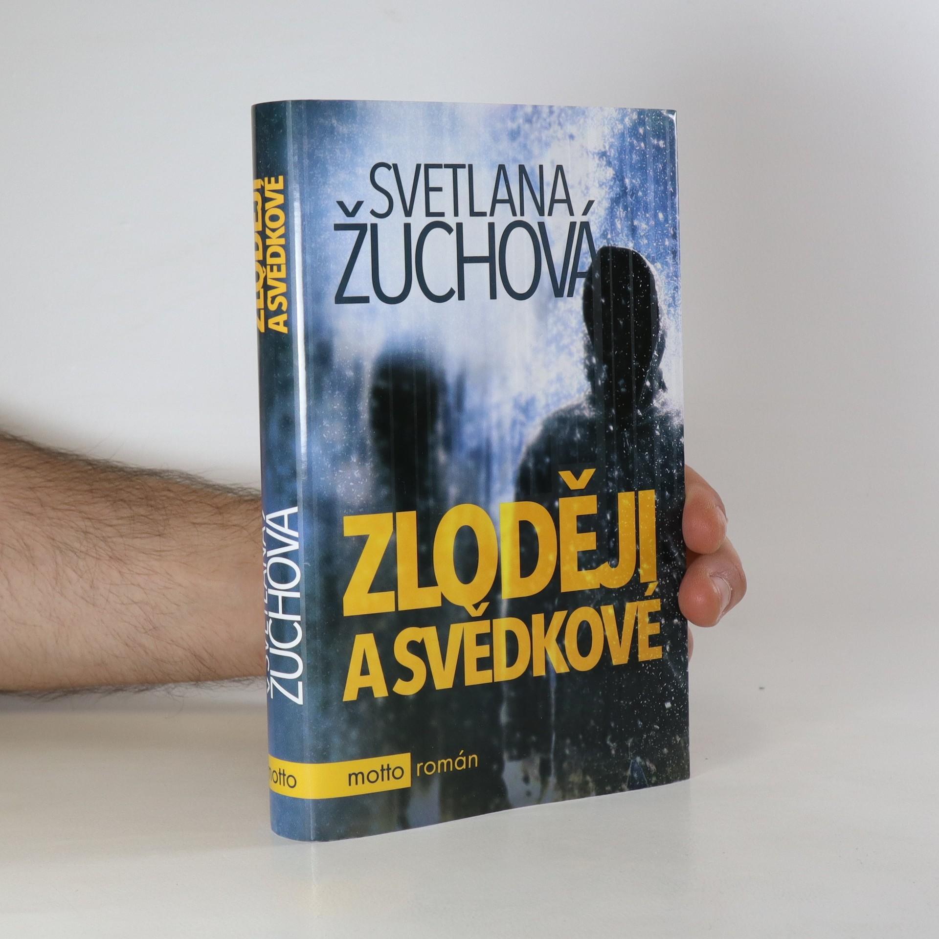 antikvární kniha Zloději a svědkové, 2017