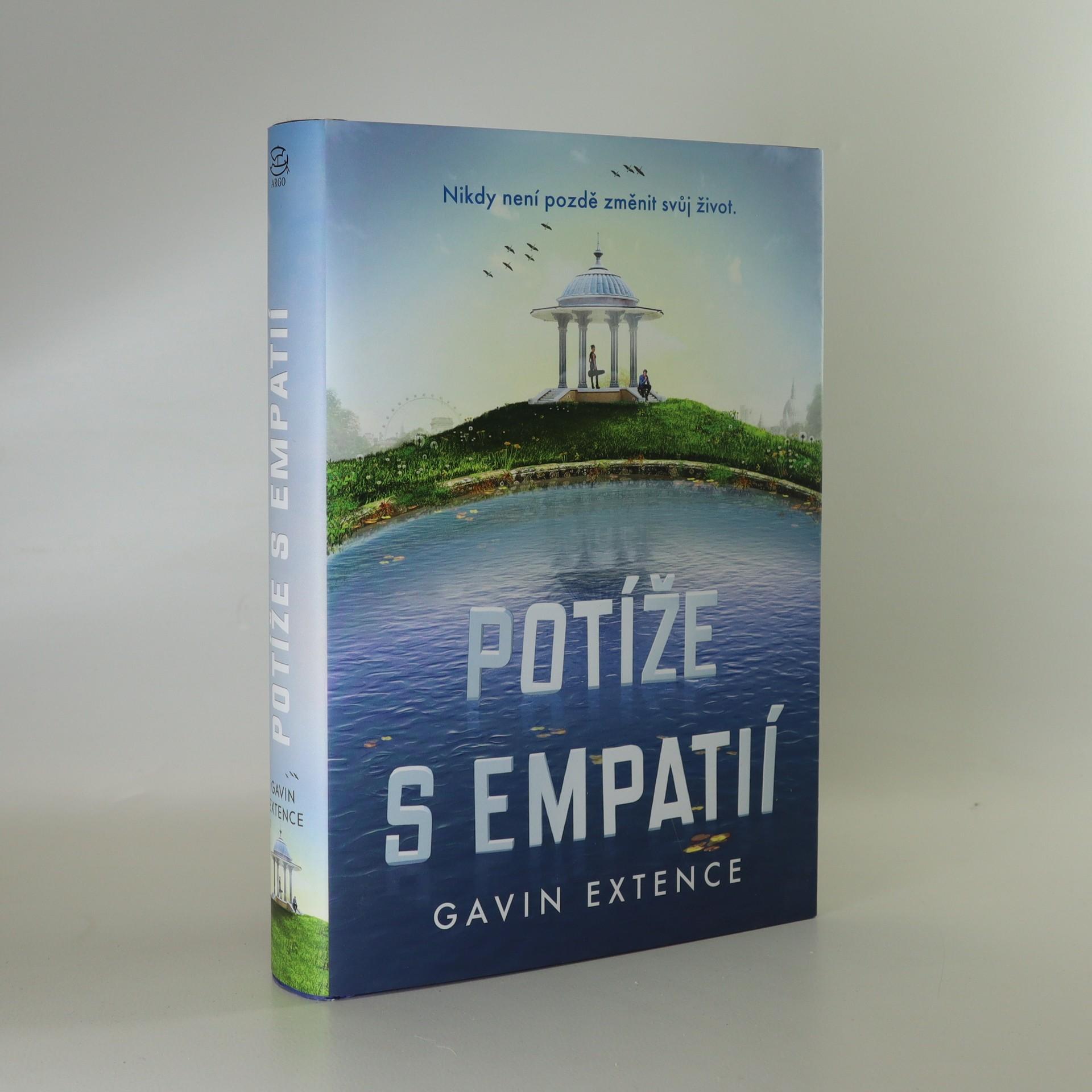 antikvární kniha Potíže s empatií, 2017
