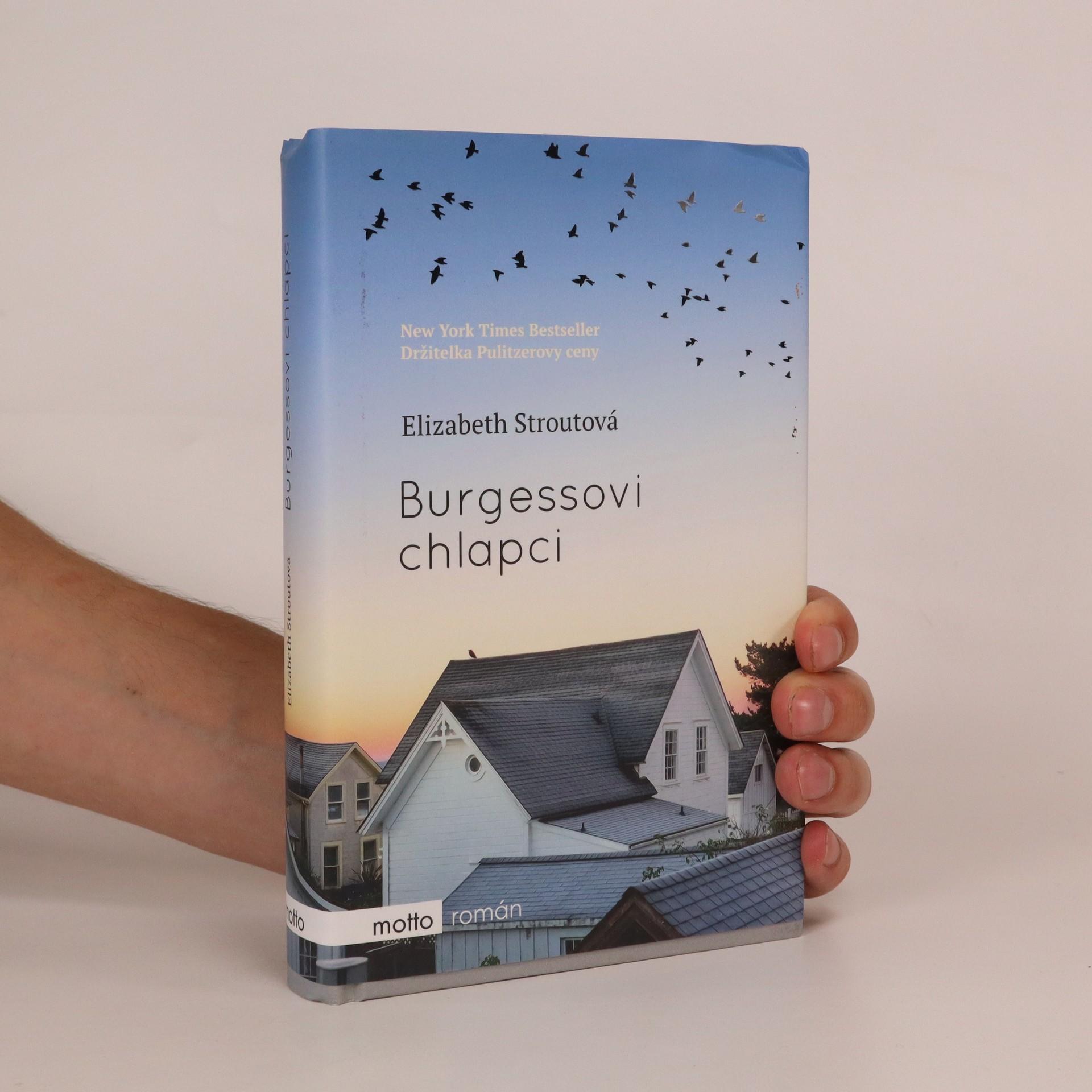 antikvární kniha Burgessovi chlapci, 2017