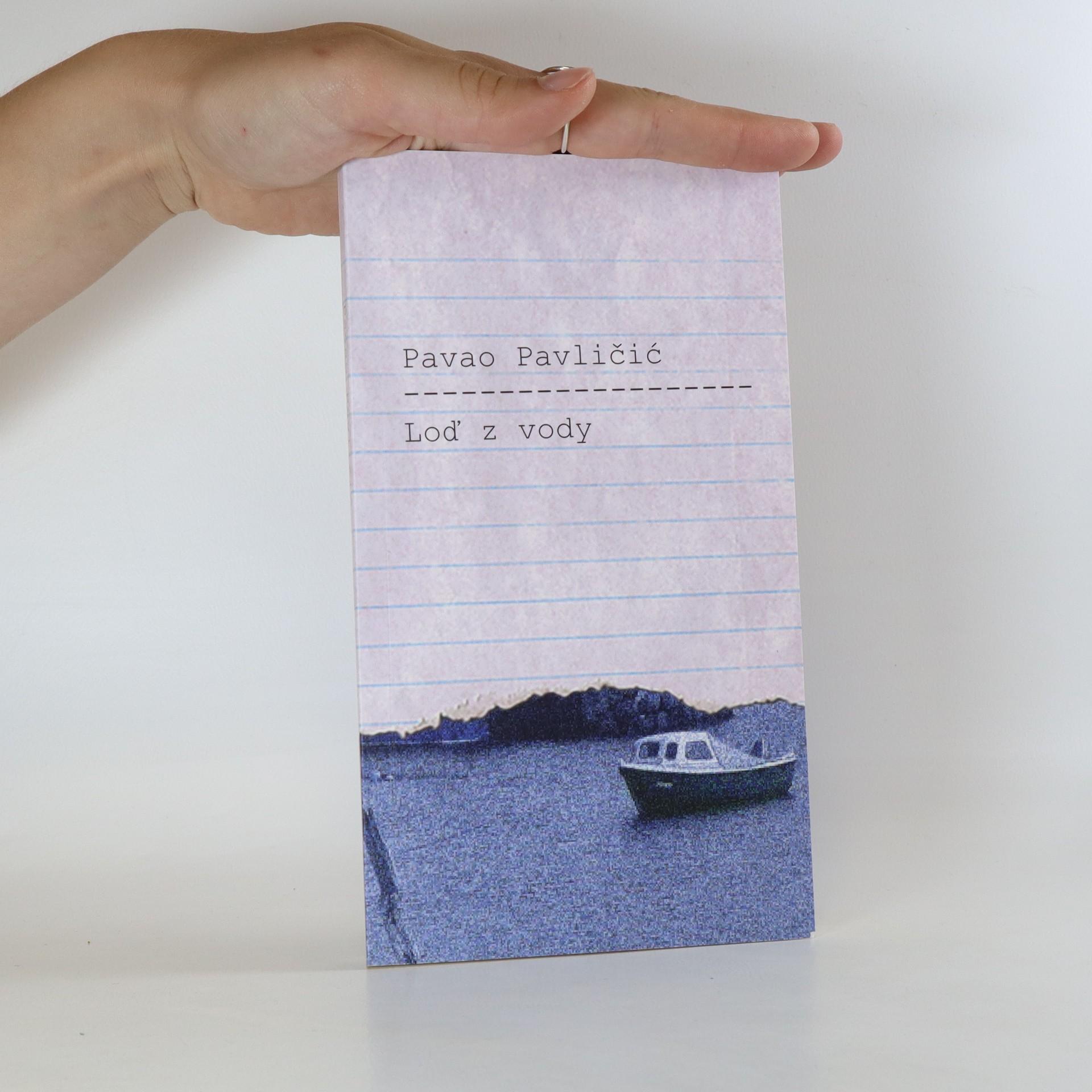 antikvární kniha Loď z vody, 2017