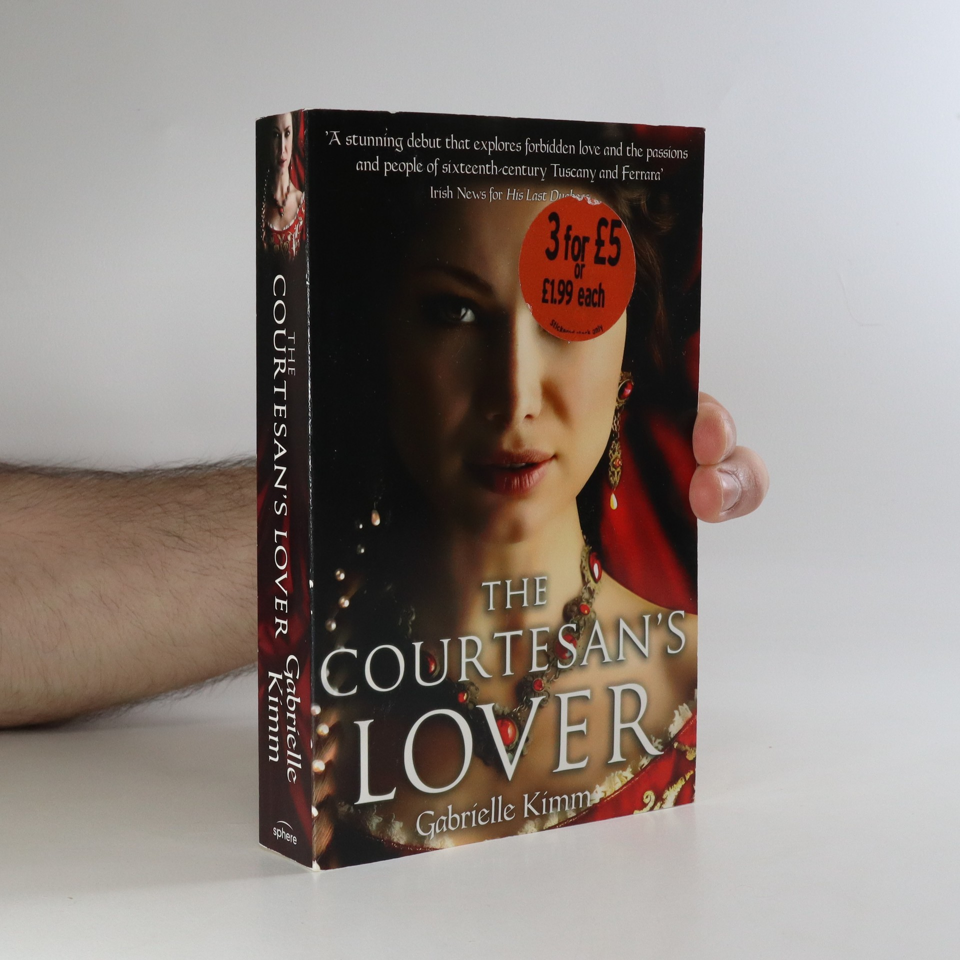 antikvární kniha The courtesan's lover, 2013