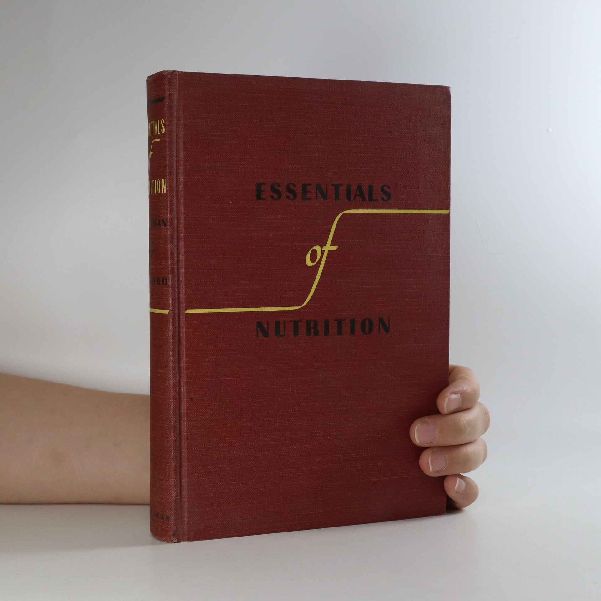 antikvární kniha Essentials of nutrition, 1943