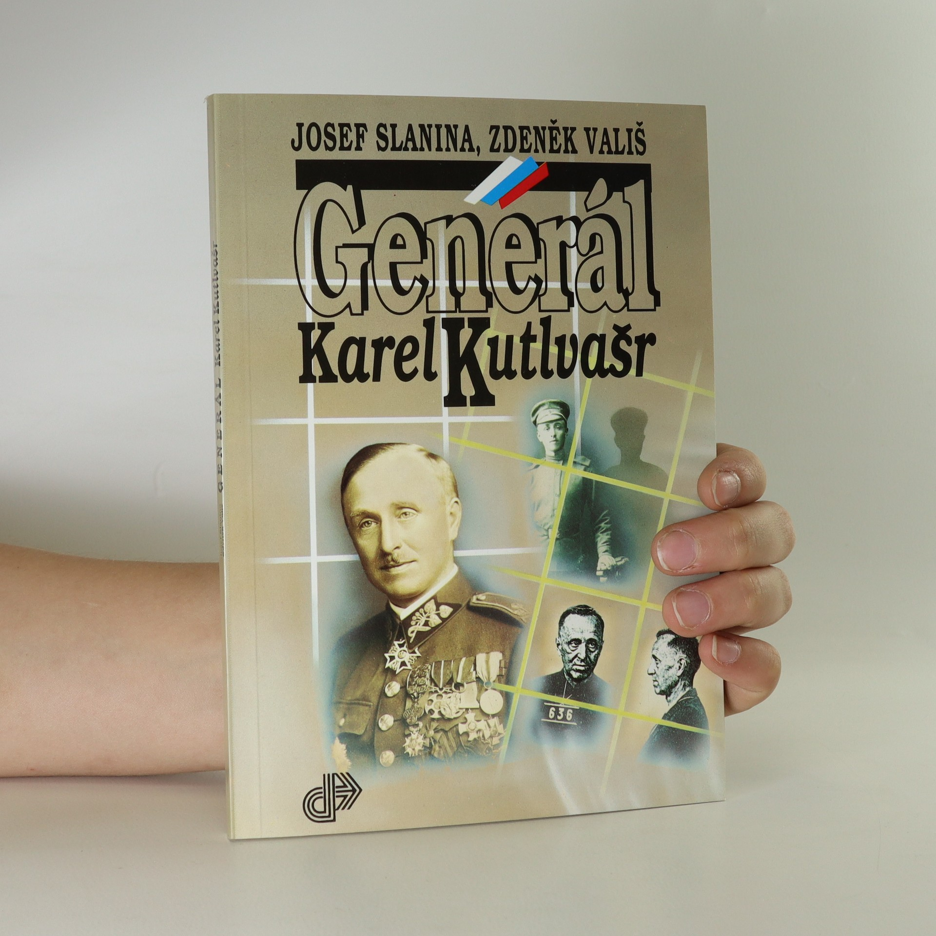 antikvární kniha Generál Karel Kutlvašr, 1993