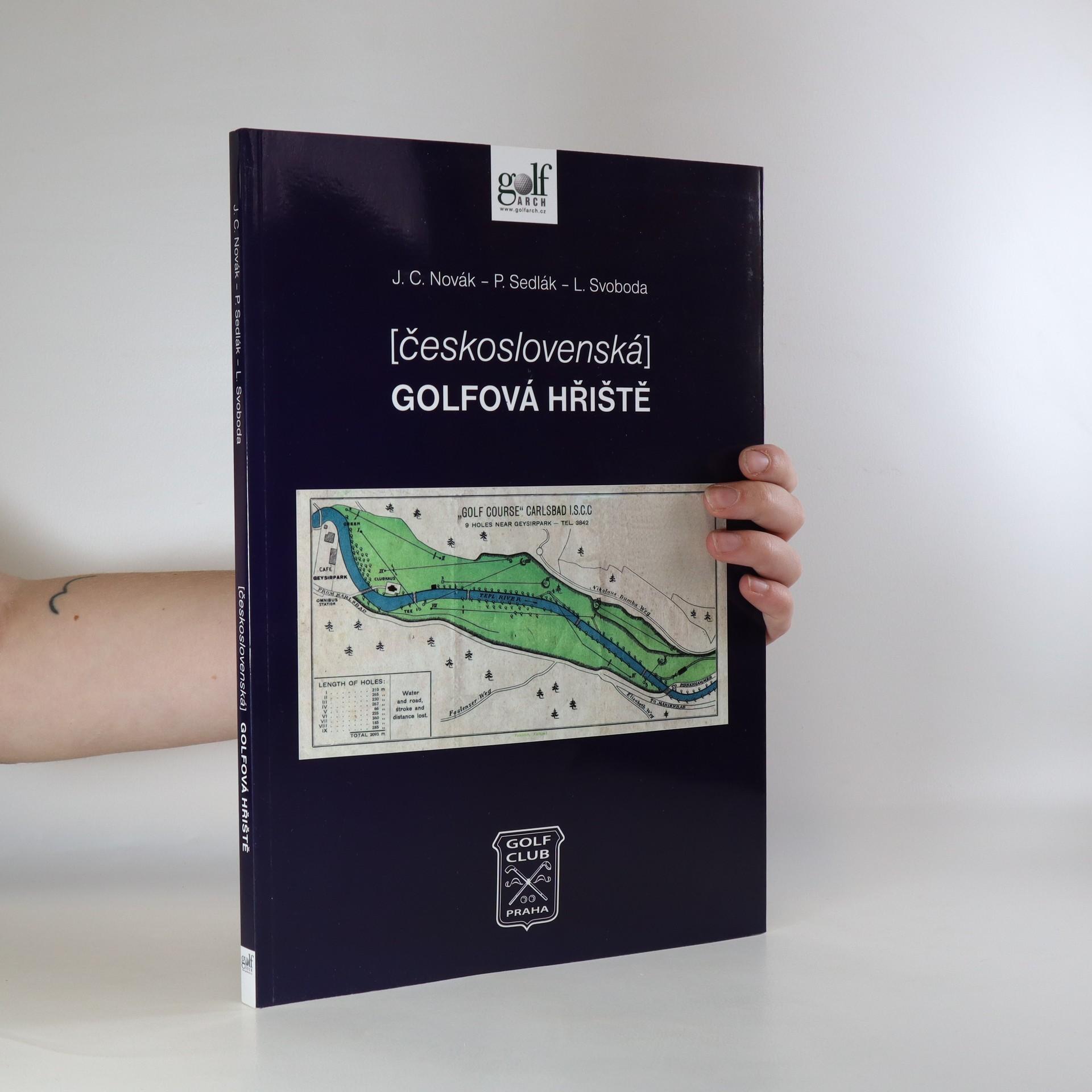 antikvární kniha Československá golfová hřiště, 2013