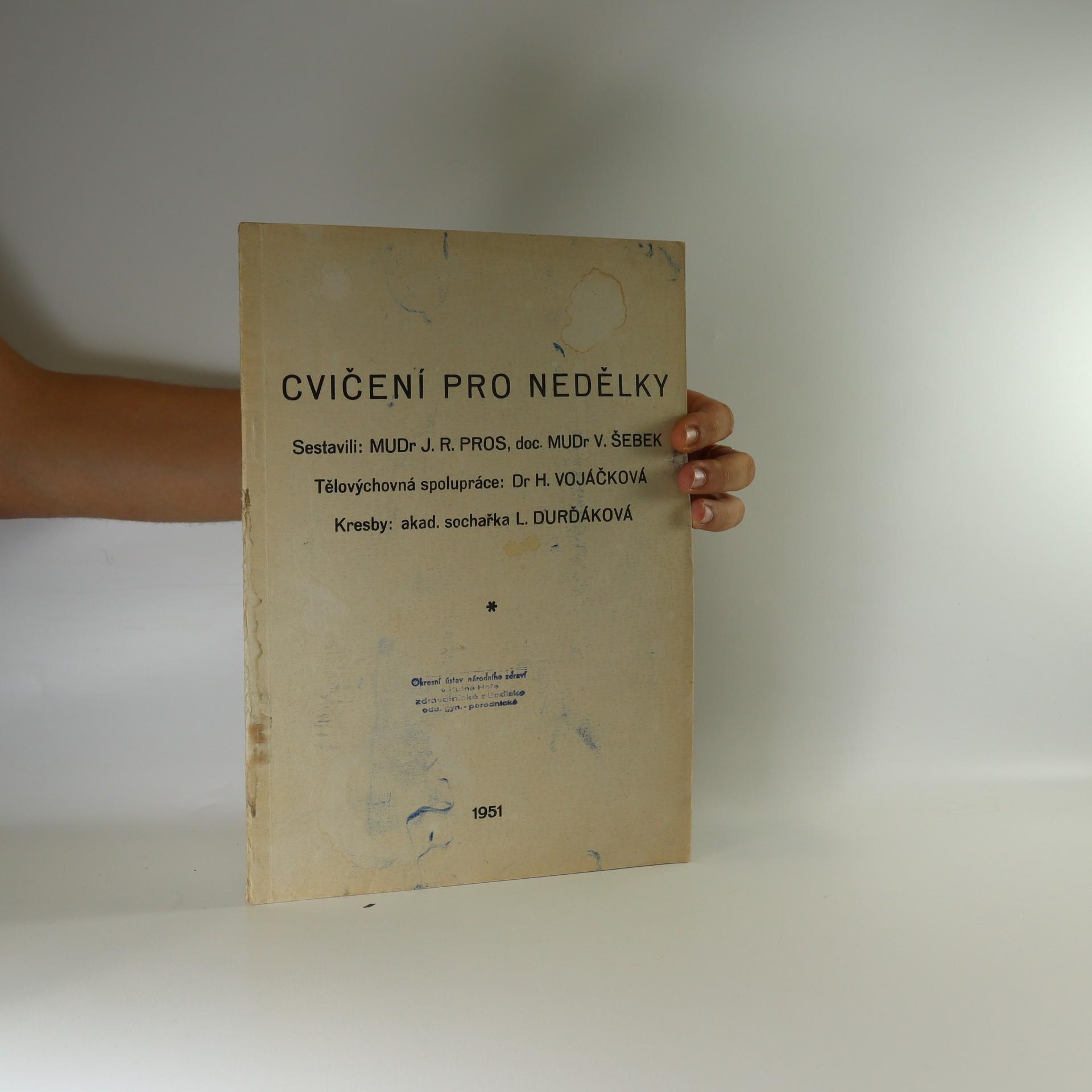antikvární kniha Cvičení pro nedělky, neuveden