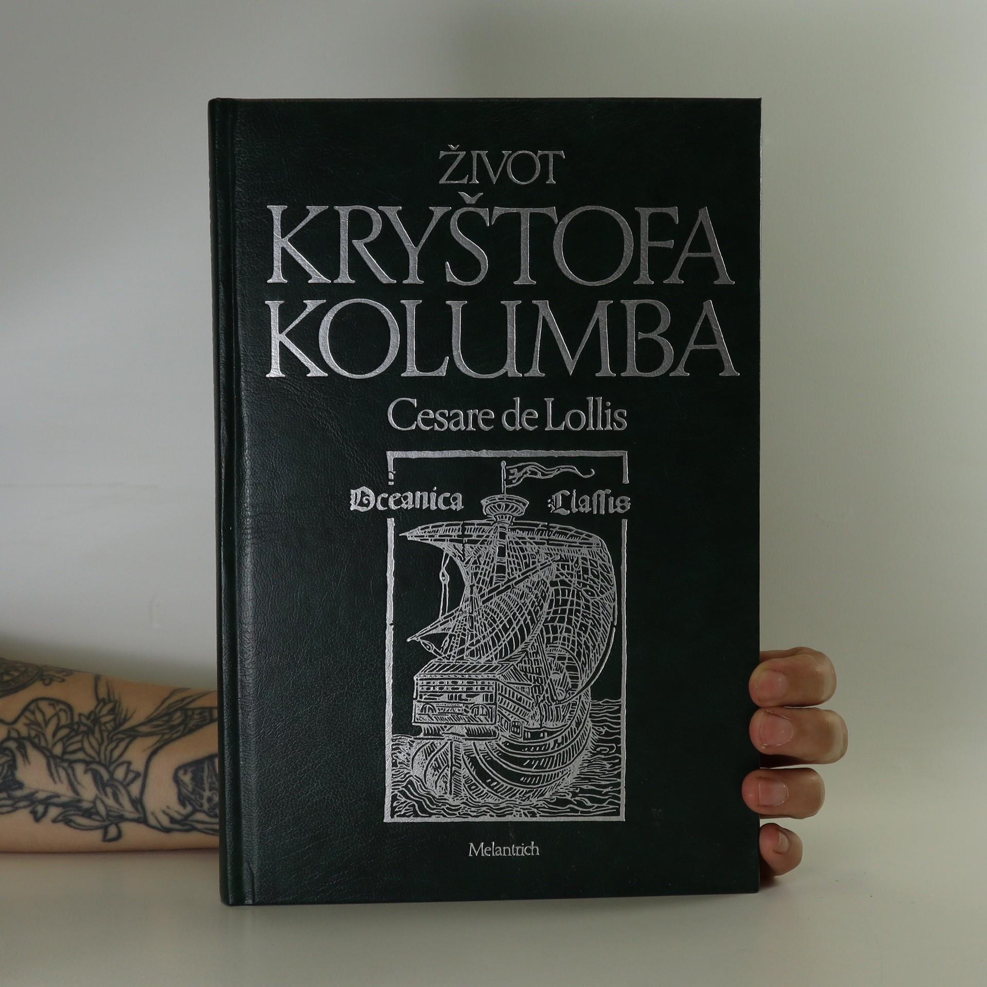 antikvární kniha Život Kryštofa Kolumba, 1992