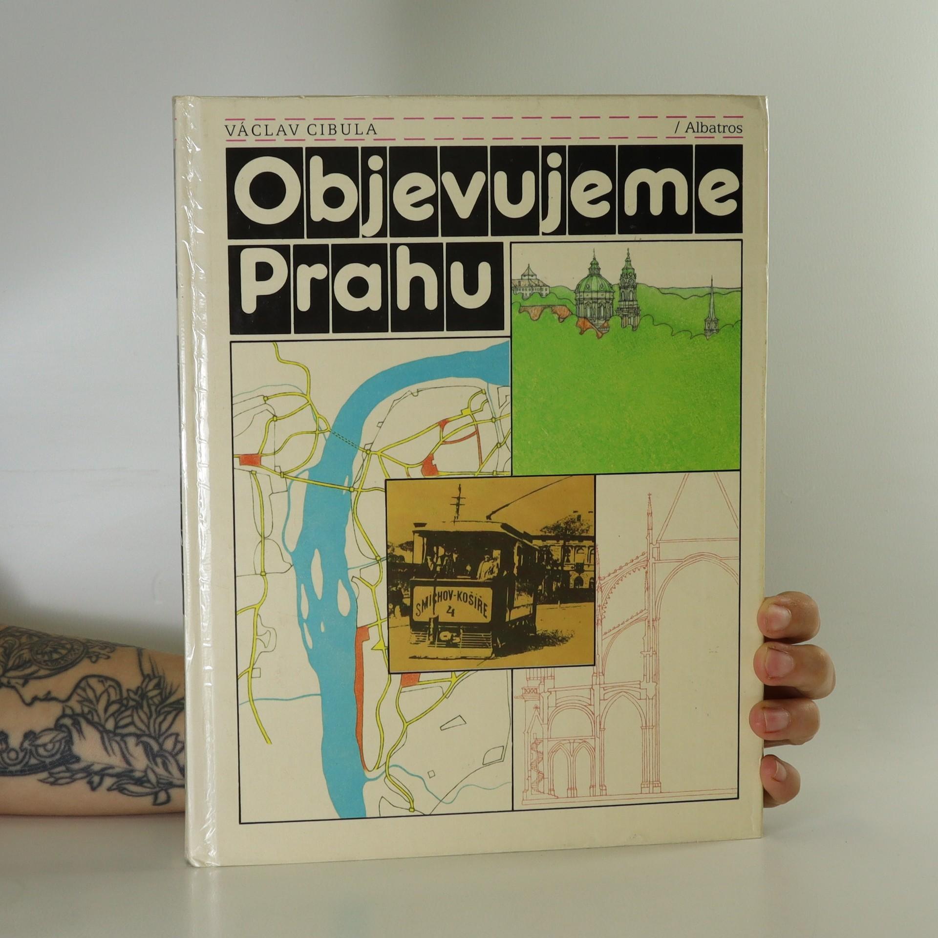 antikvární kniha Objevujeme Prahu, 1988