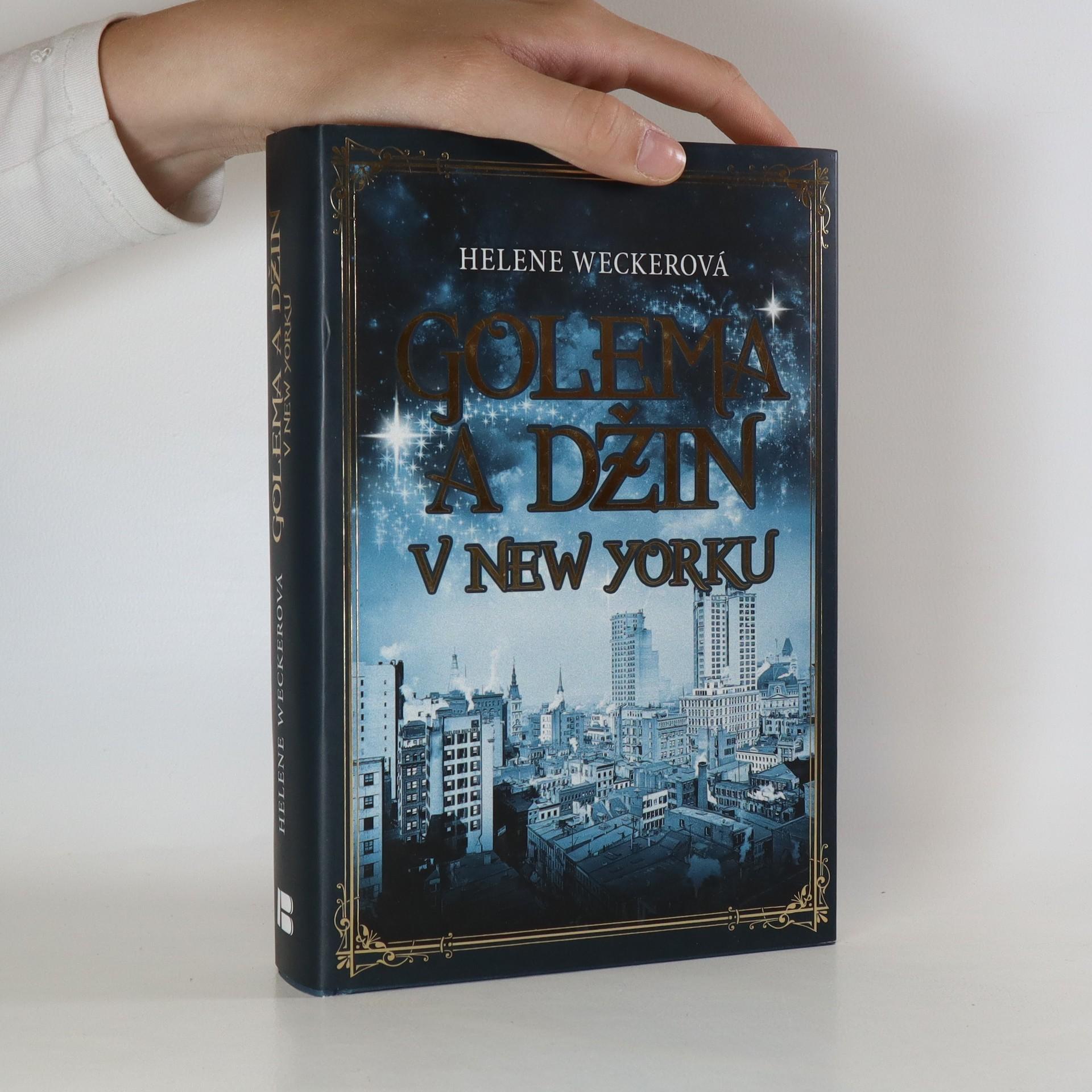 antikvární kniha Golema a džin v New Yorku, 2014