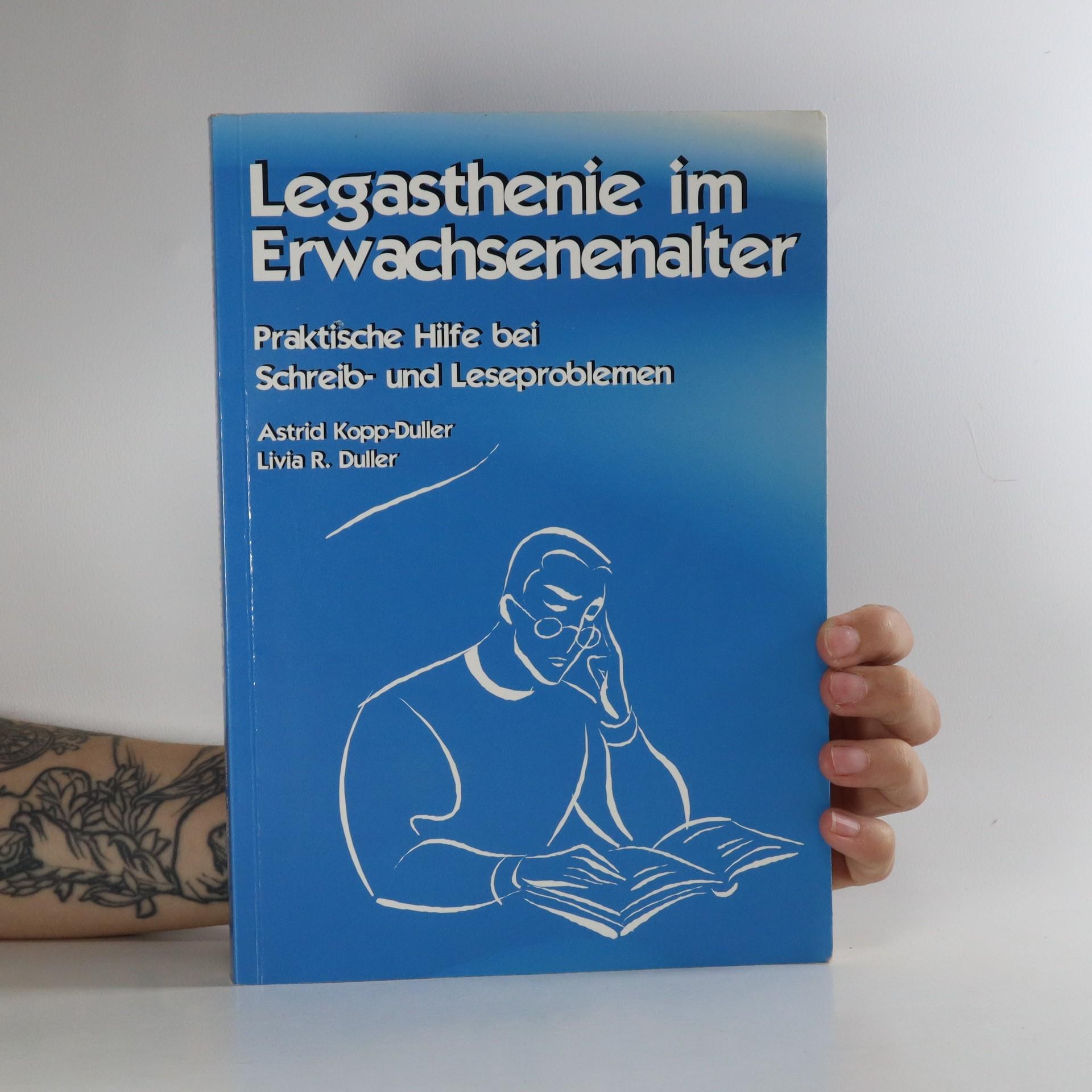 antikvární kniha Legasthenie im Erwachsenenalter, neuveden