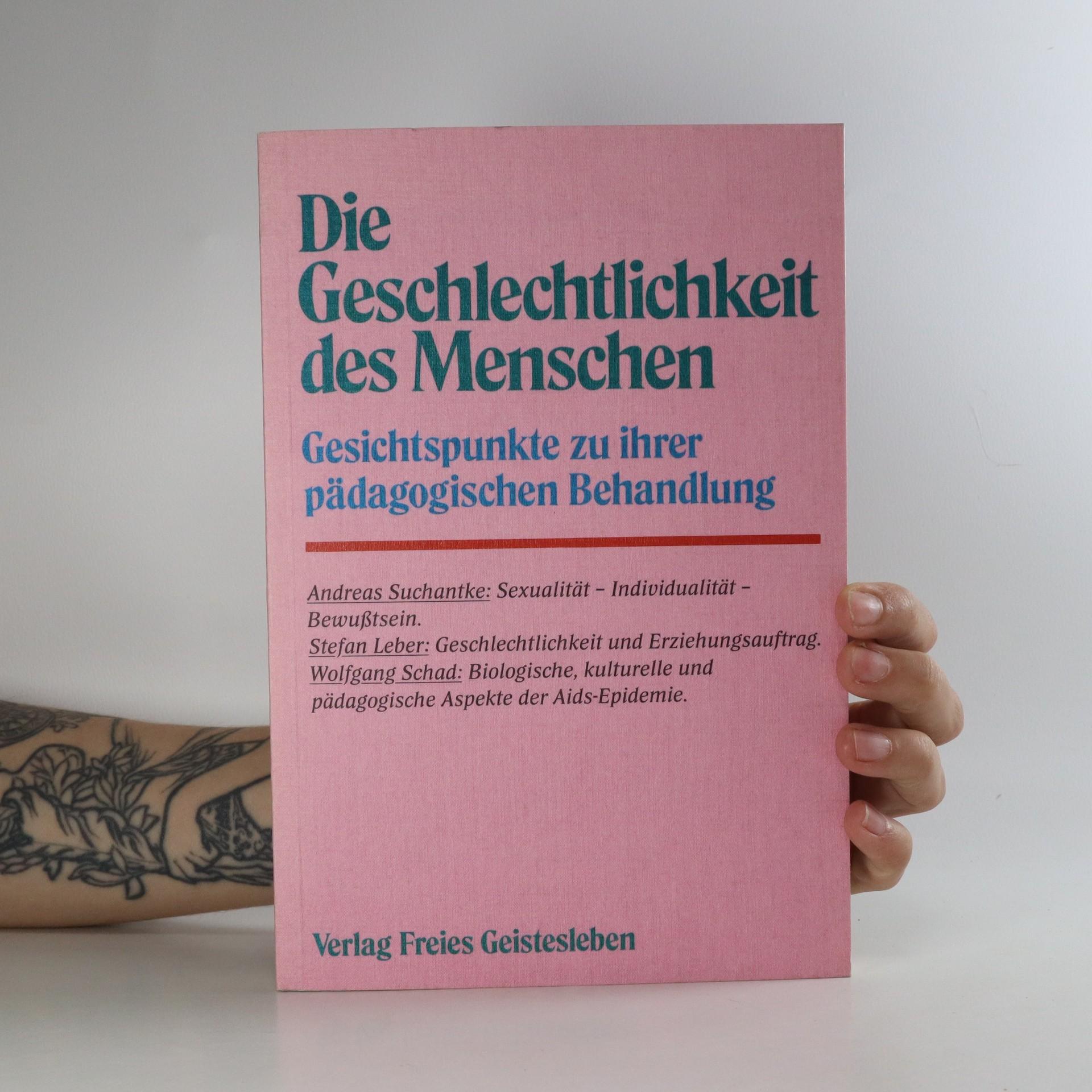 antikvární kniha Die Geschlechtlichkeit des Menschen, 1989