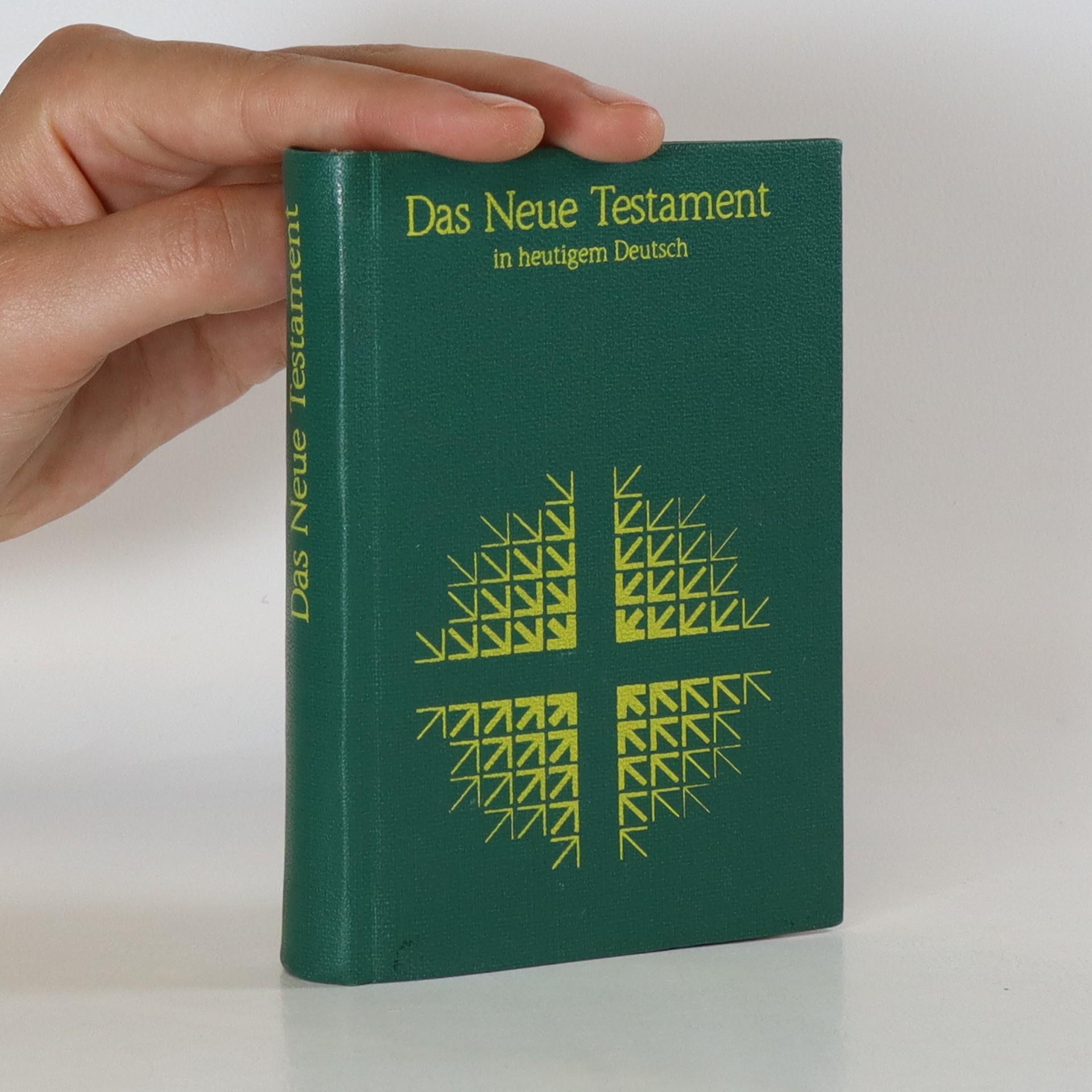 antikvární kniha Das Neue Testament, 1986