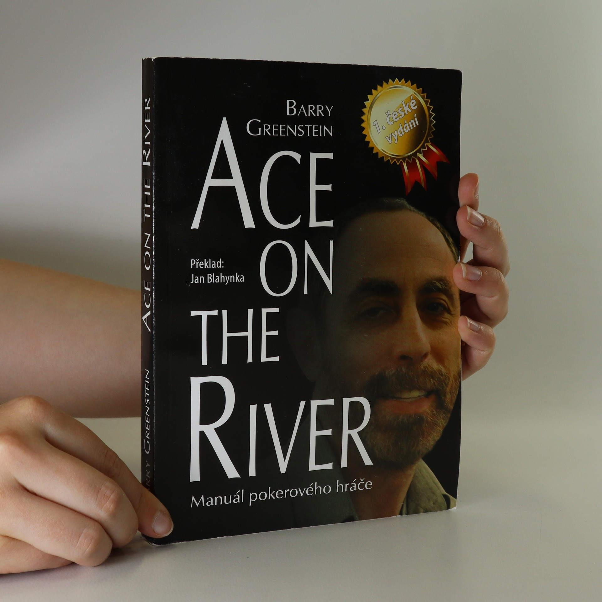 antikvární kniha Ace on the river. Manuál pokerového hráče, 2011