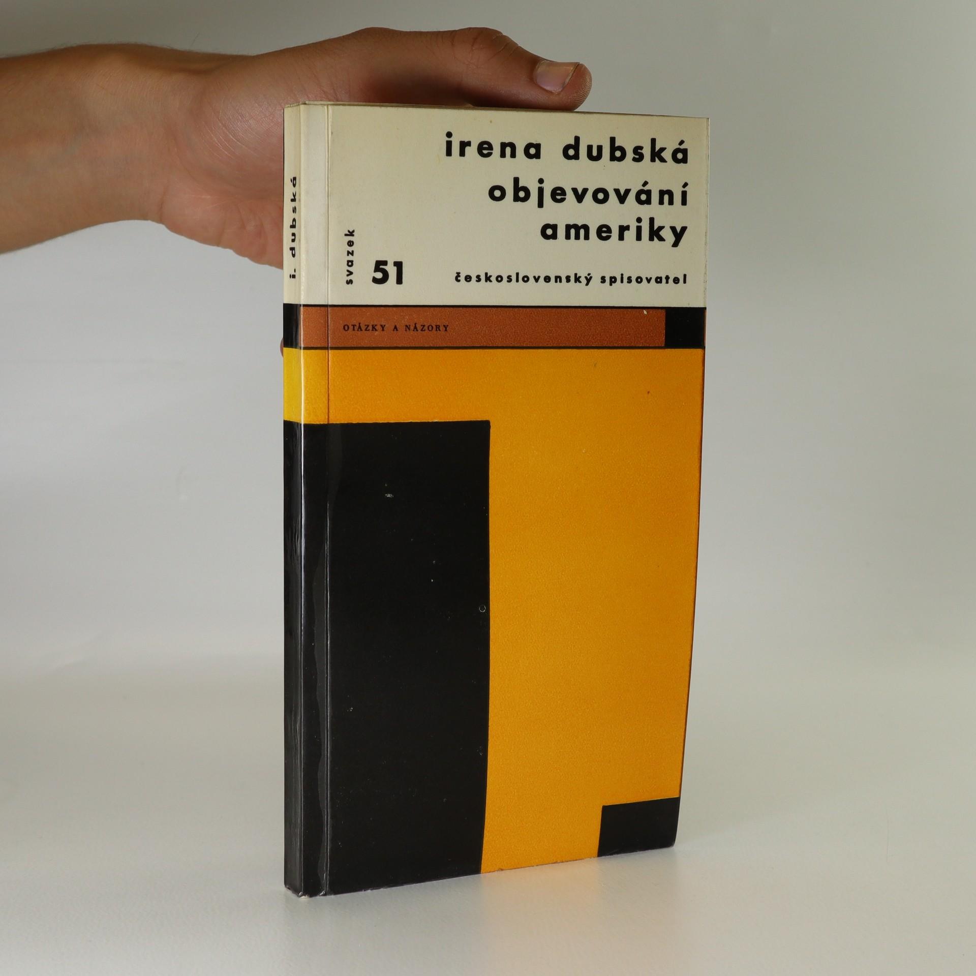 antikvární kniha Objevování ameriky, 1964