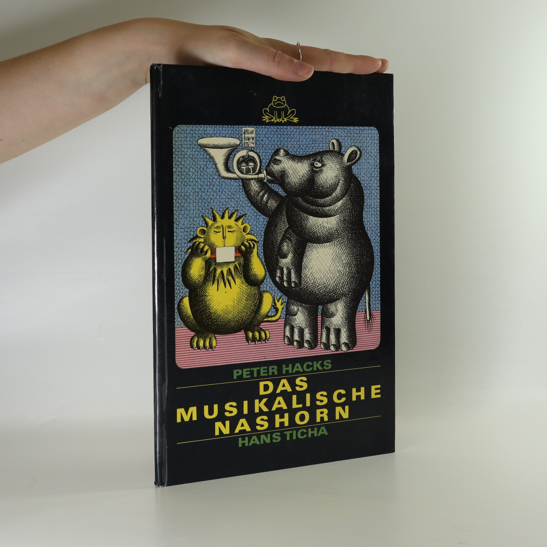 antikvární kniha Das Musikalische Nashorn, 1978