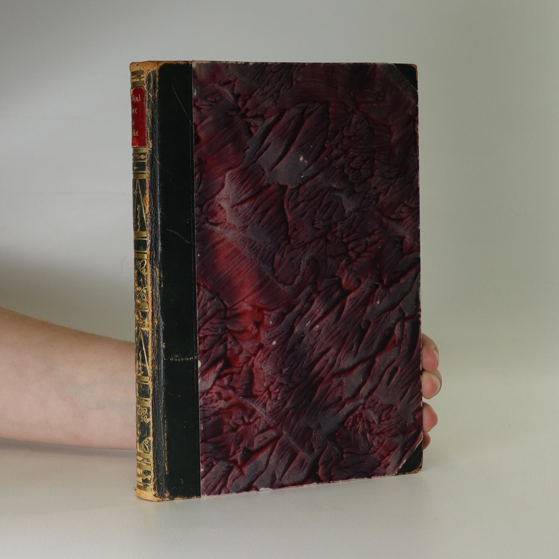 antikvární kniha Über die Liebe, neuveden