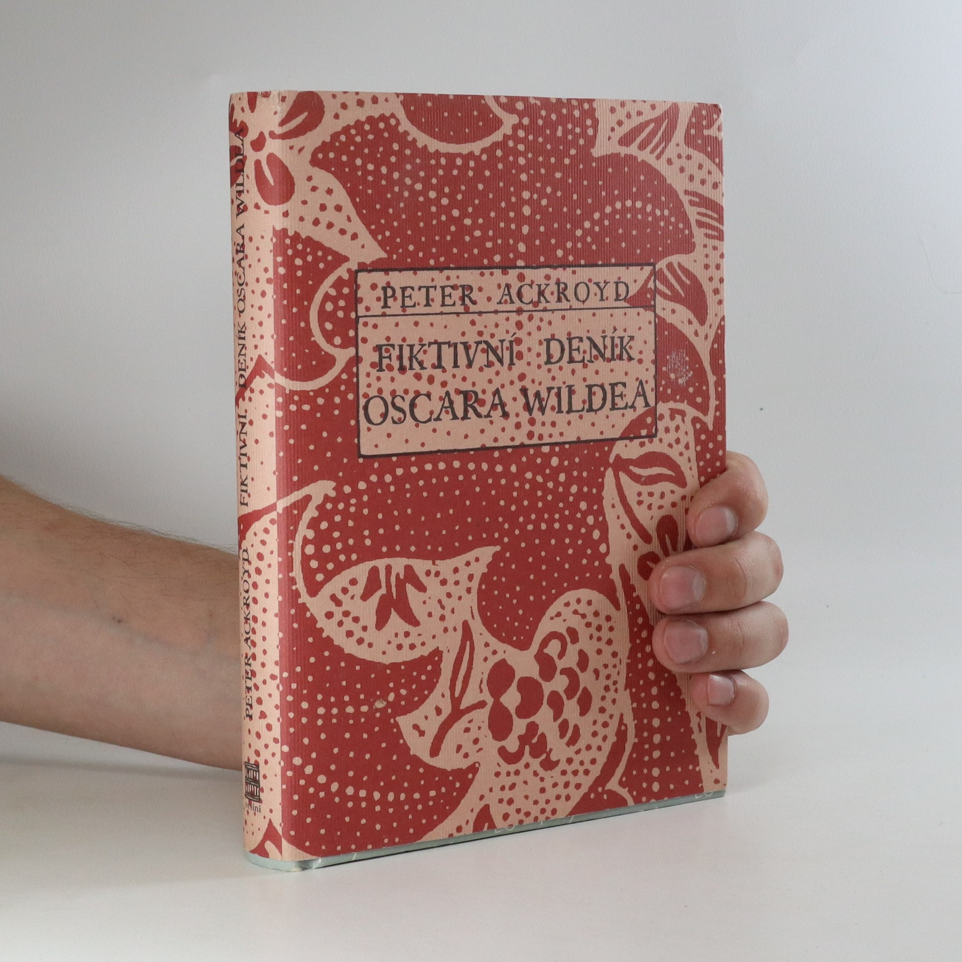 antikvární kniha Fiktivní deník Oscara Wildea, 2006