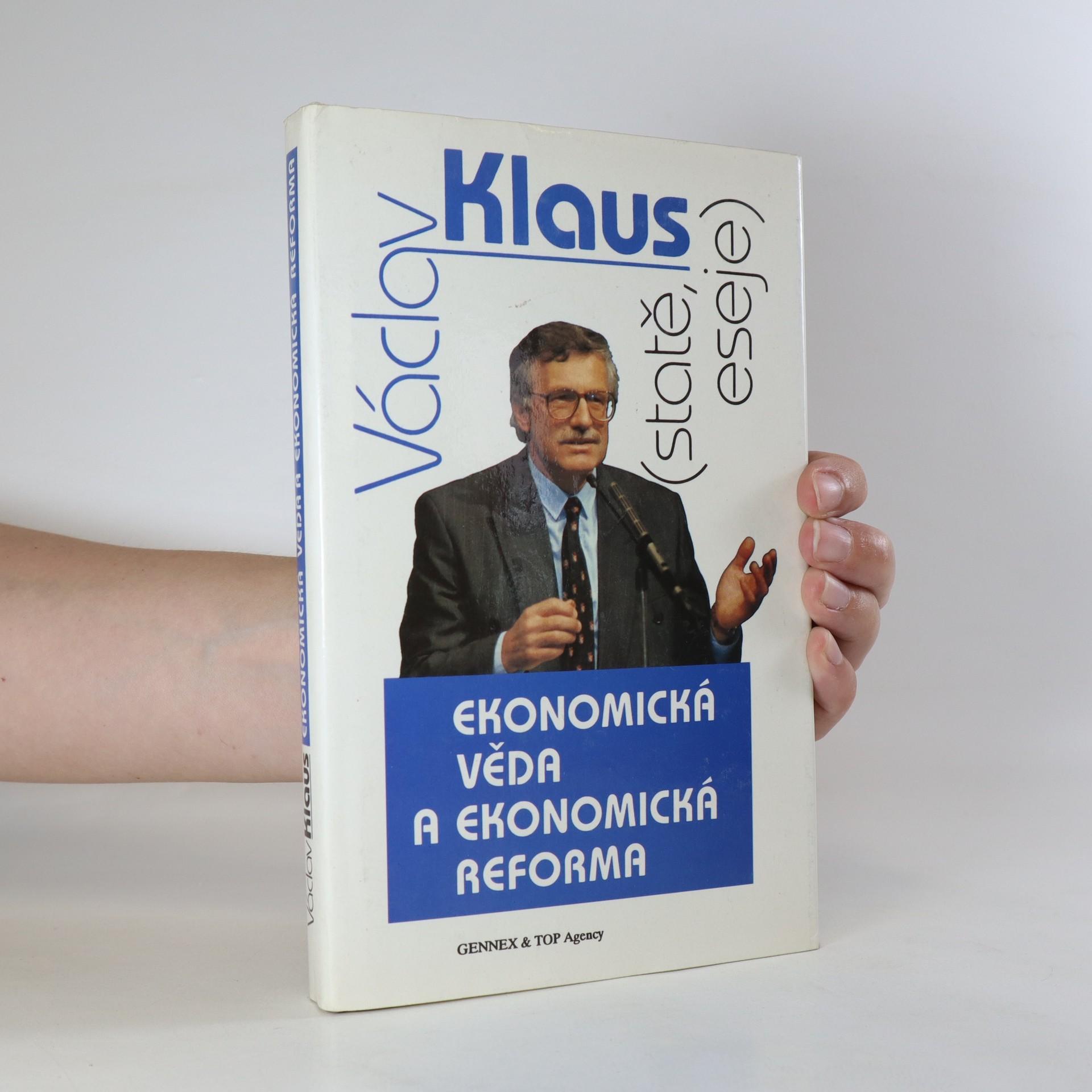 antikvární kniha Ekonomická věda a ekonomická reforma. Statě a eseje, 1991