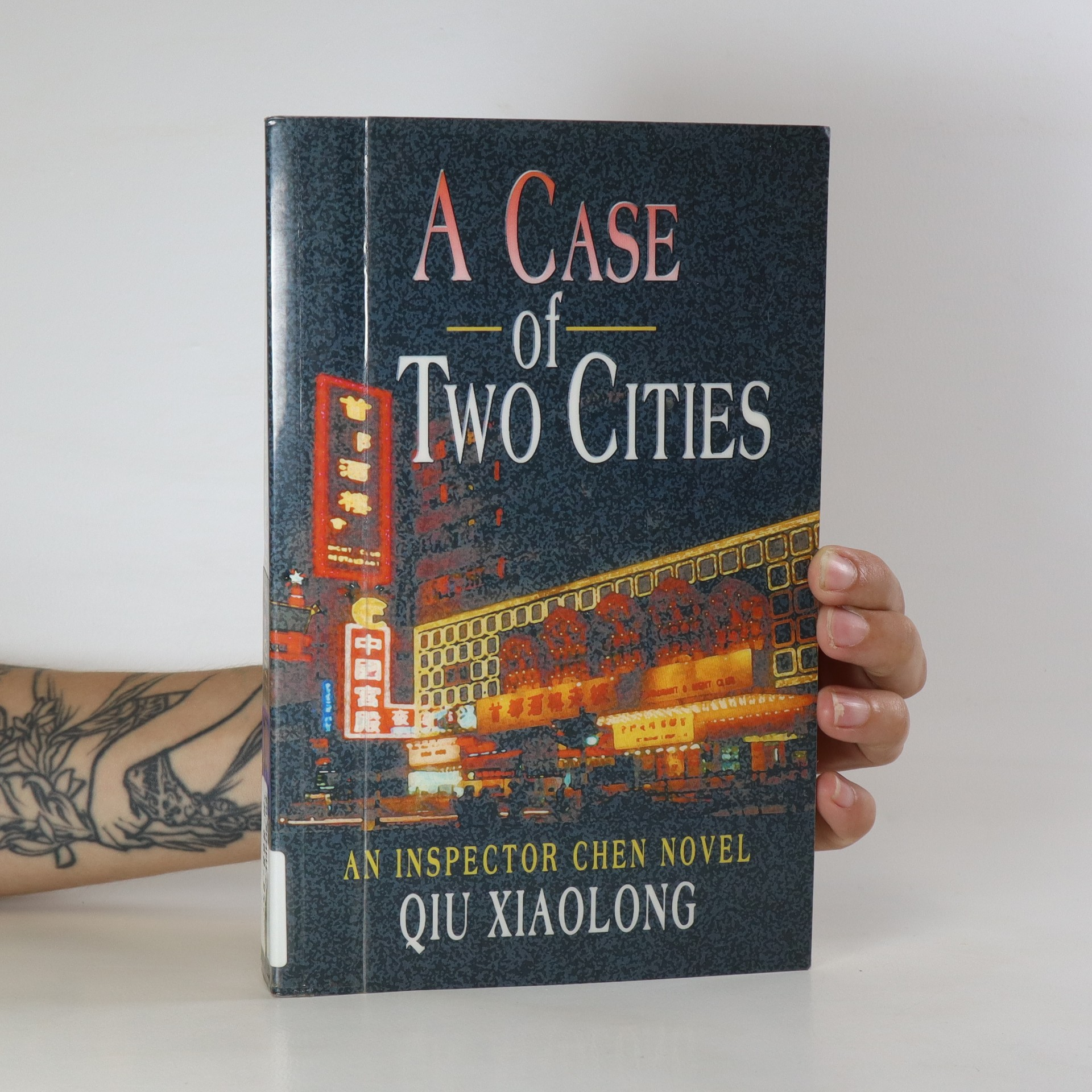 antikvární kniha A Case of Two Cities, 2007