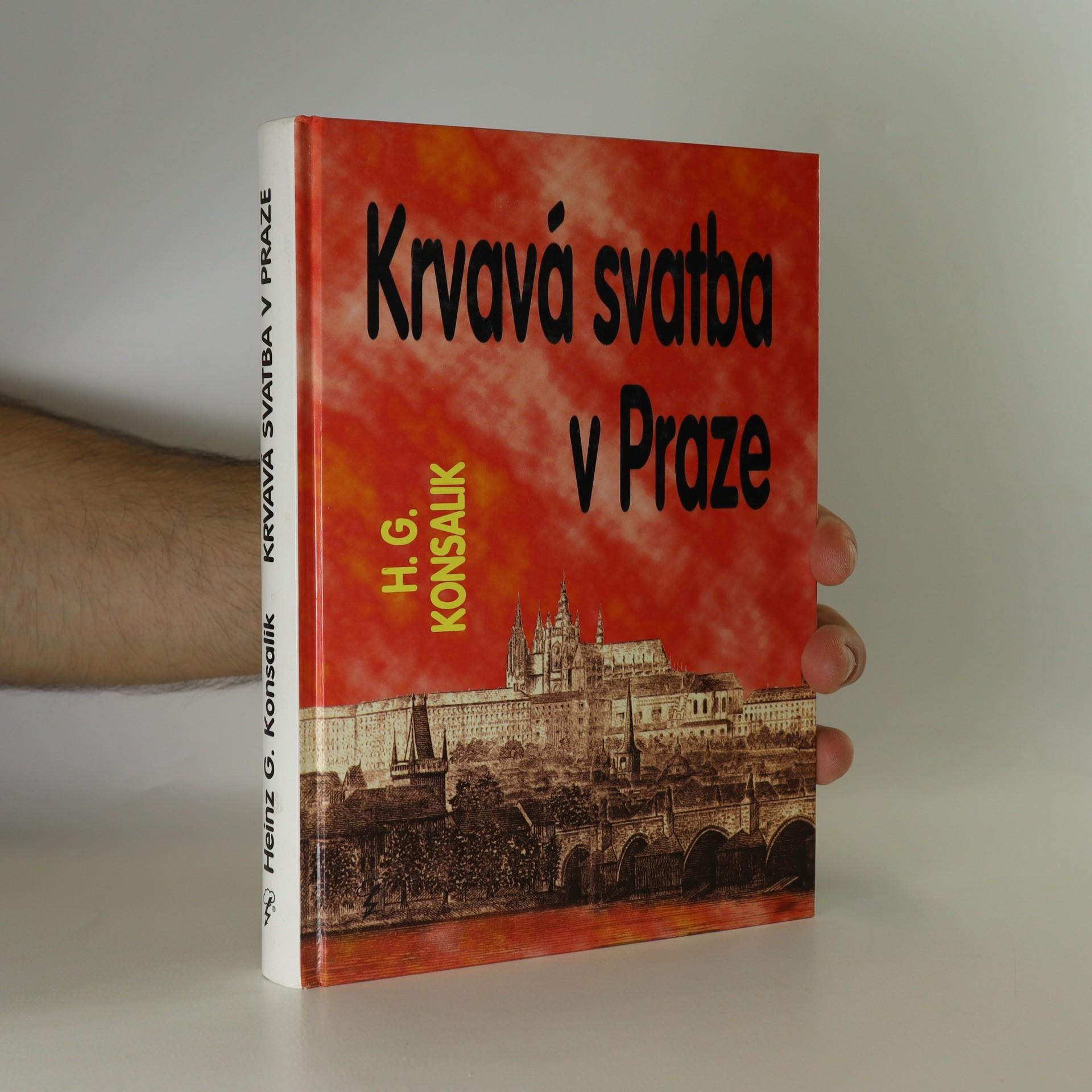 antikvární kniha Krvavá svatba v Praze, 1998