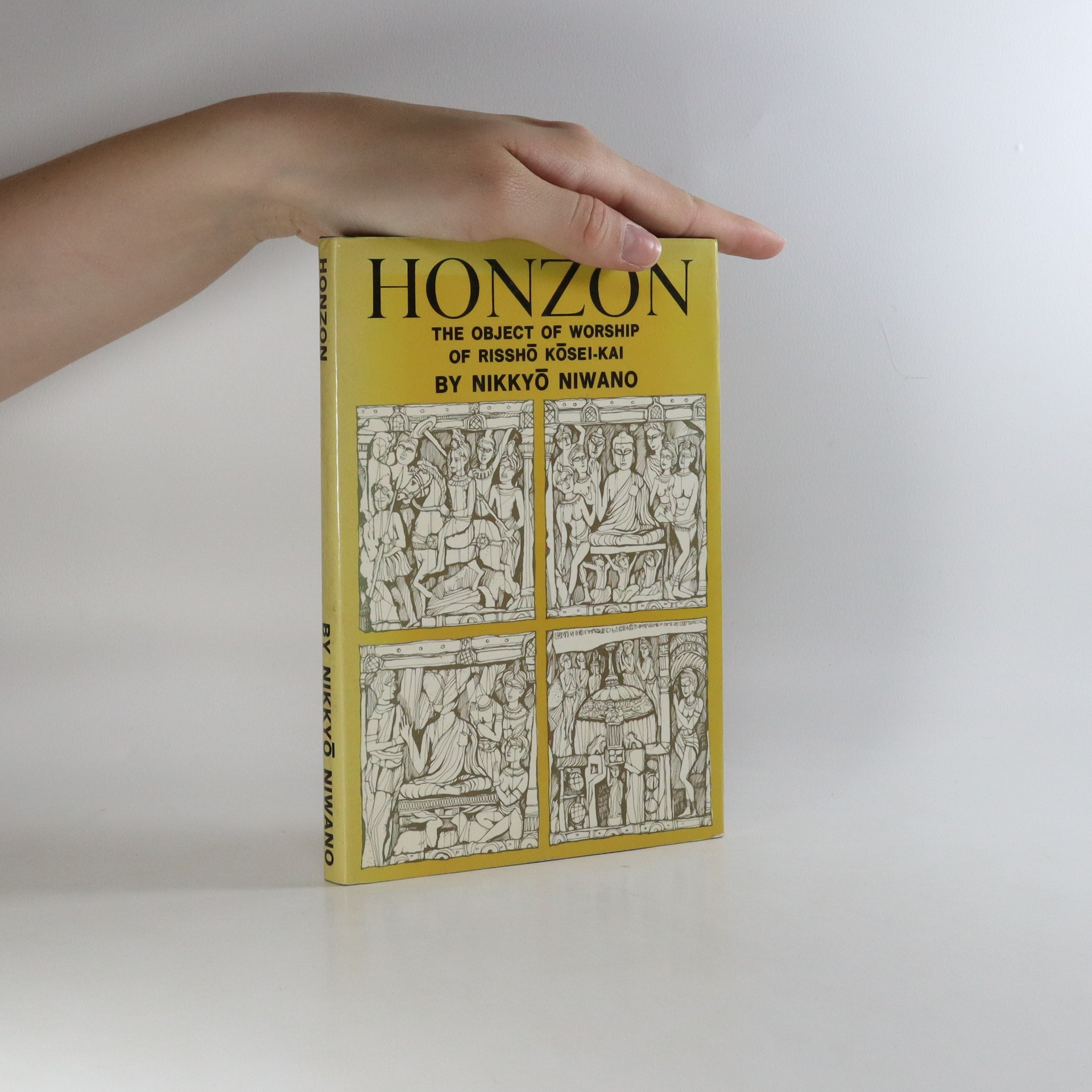 antikvární kniha Honzon. The object of worship of Risshó Kósei-Kai, 1969