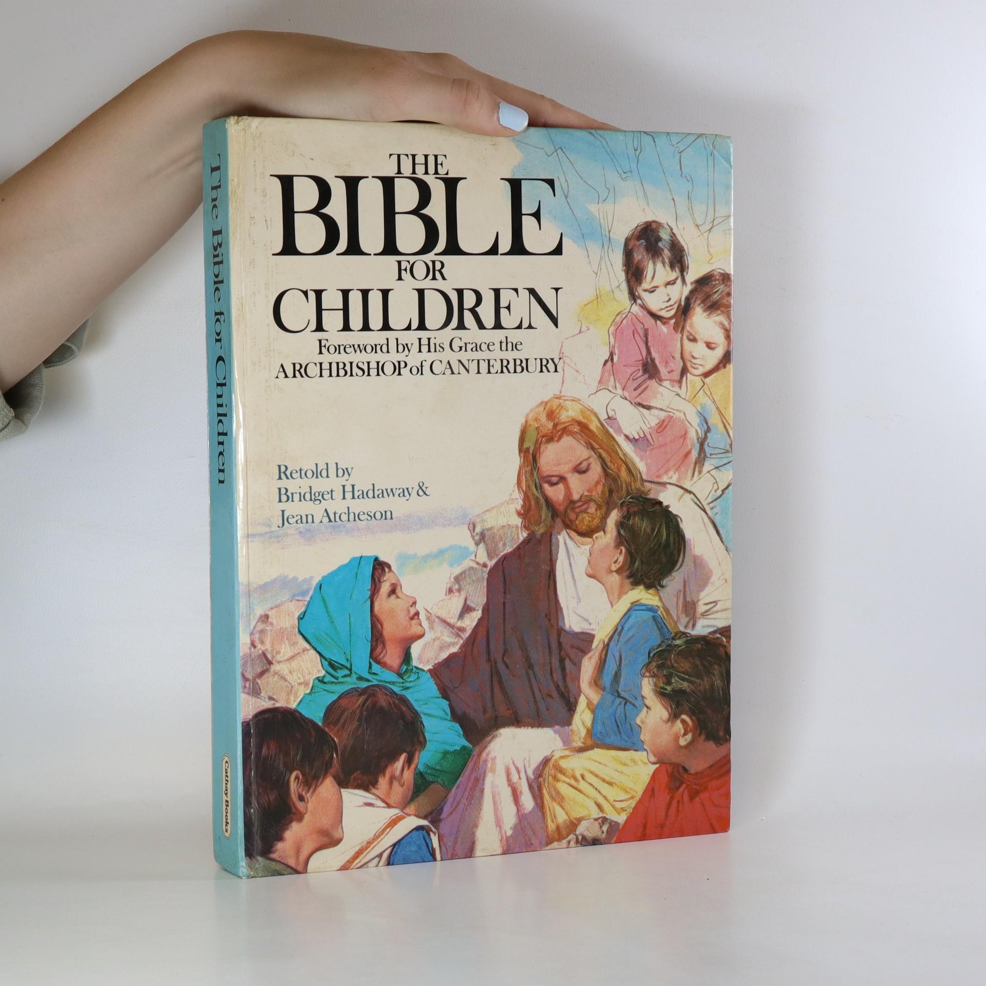 antikvární kniha The Bible for children, neuveden