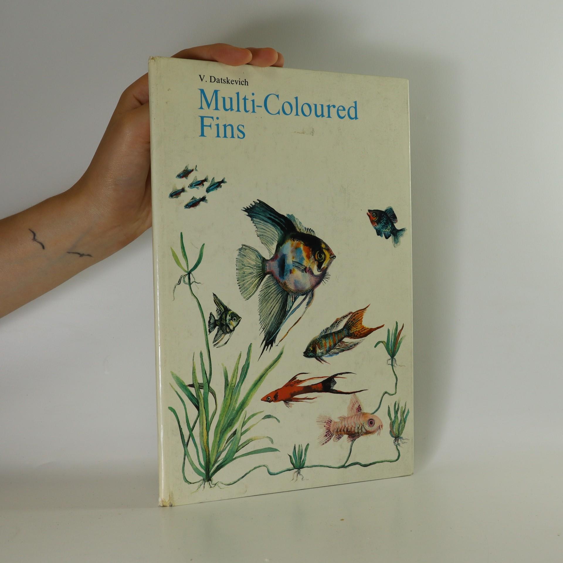 antikvární kniha Multi-Coloured Fins, 1983