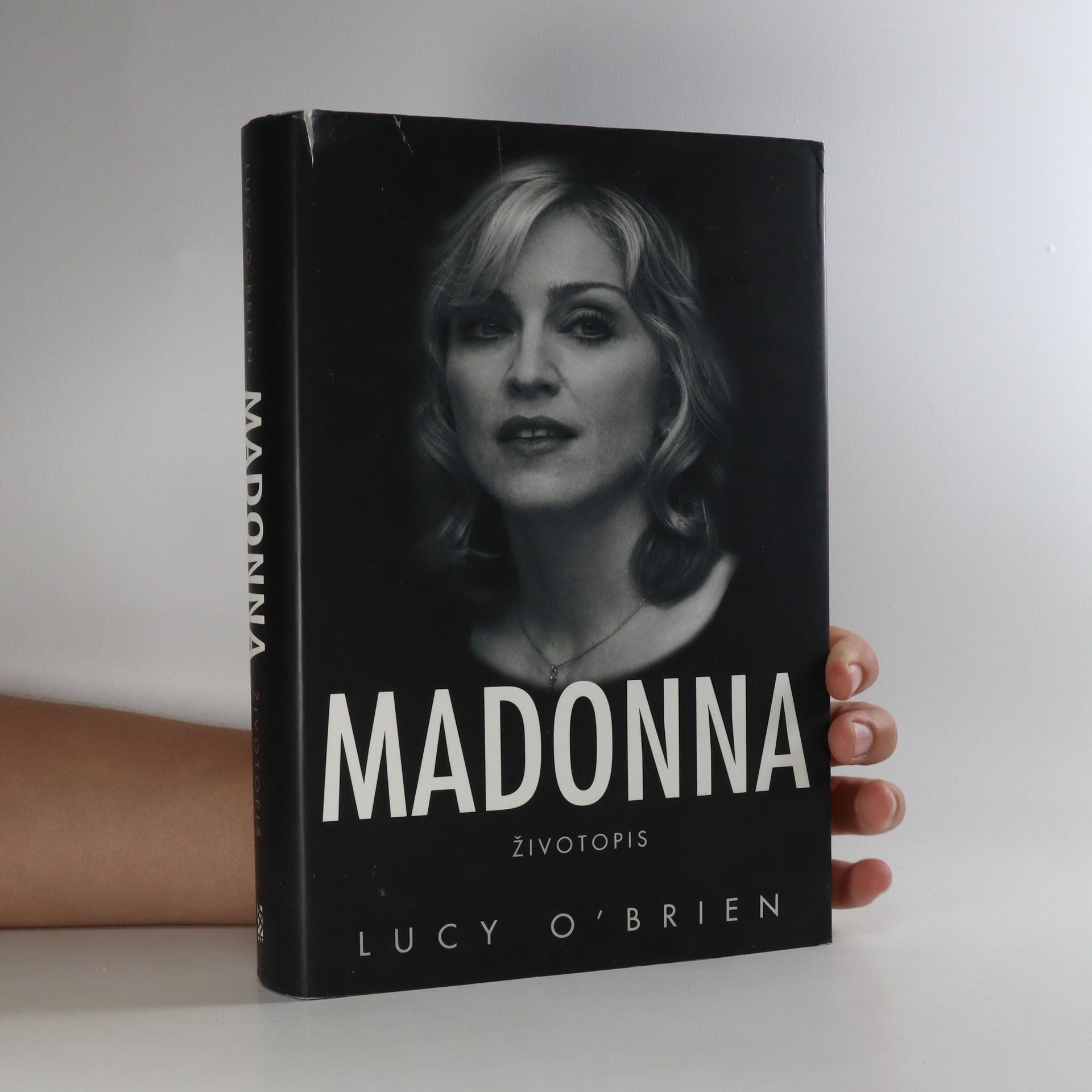 antikvární kniha Madonna. Životopis, 2008