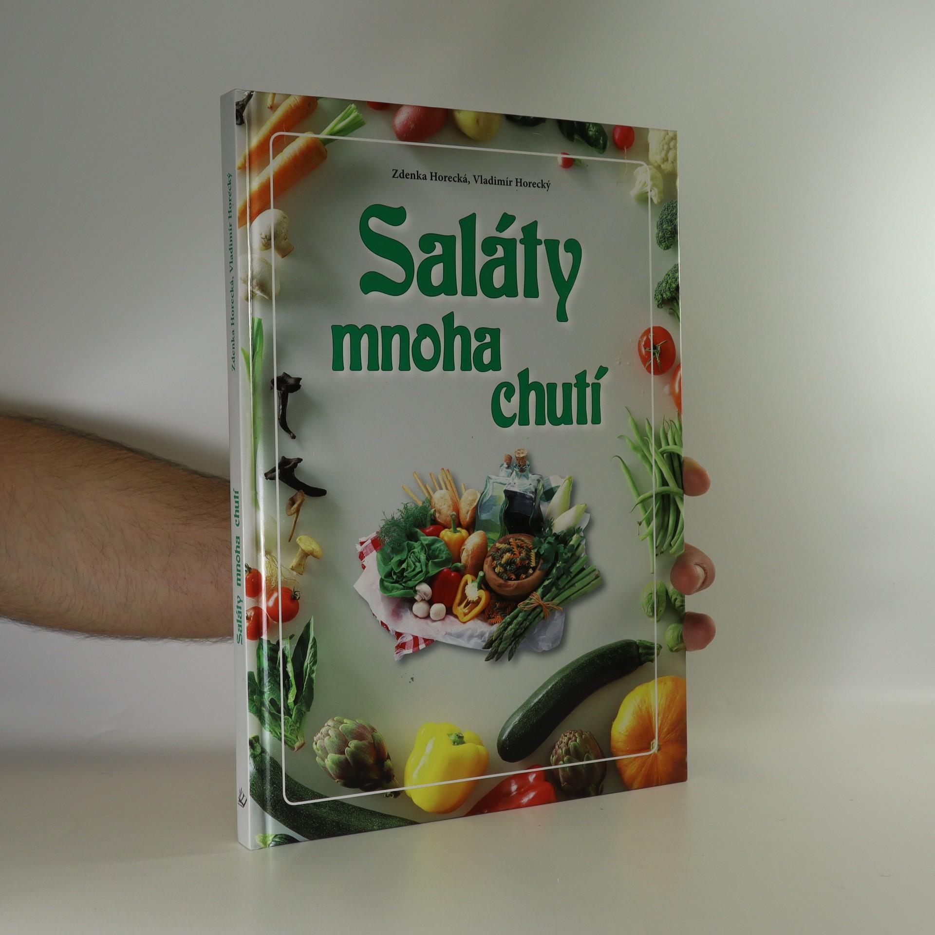 antikvární kniha Saláty mnoha chutí, neuveden