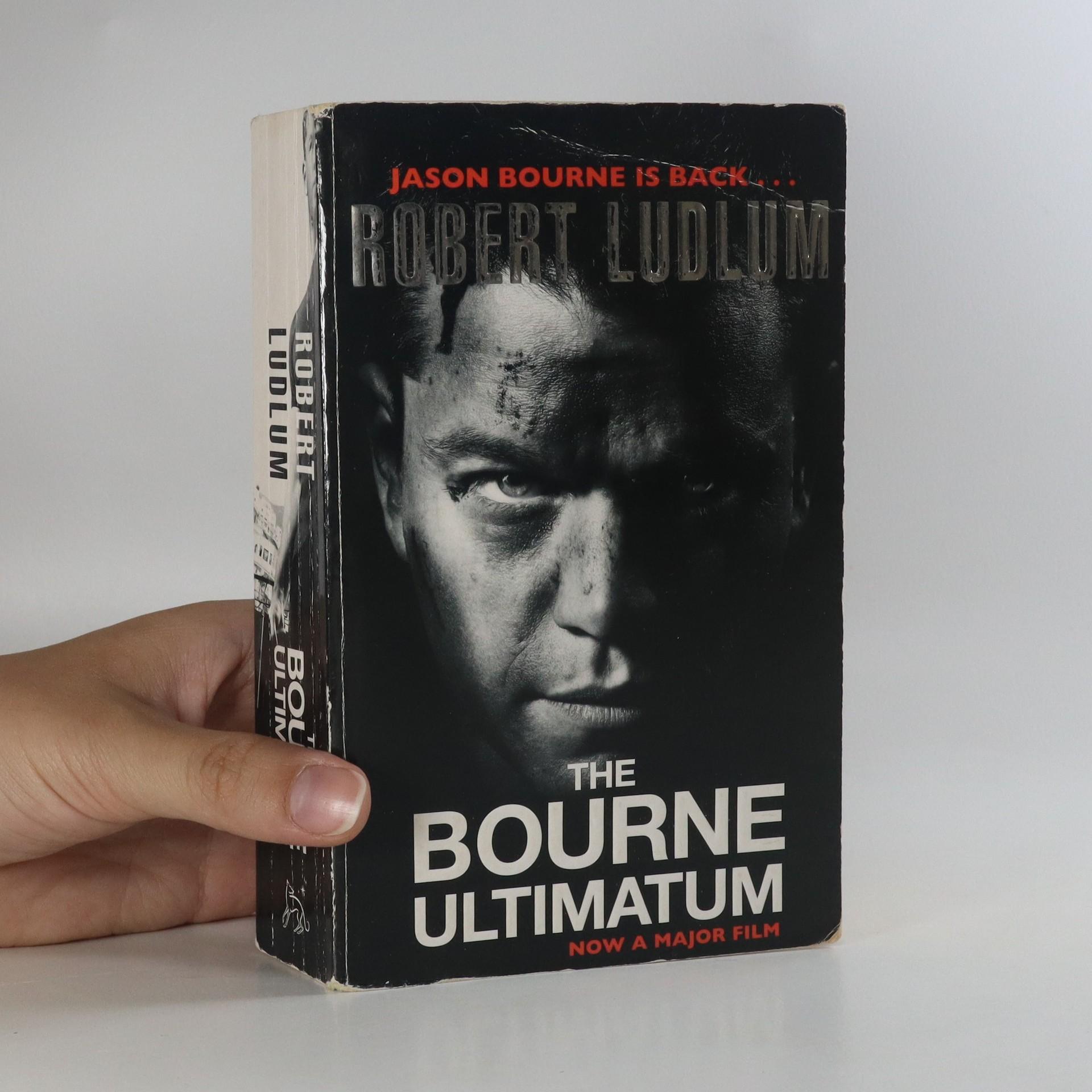 antikvární kniha The Bourne ultimatum, 2004