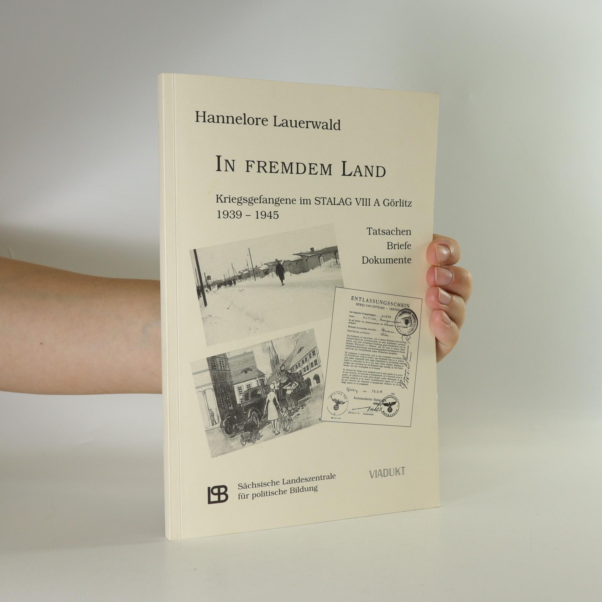 antikvární kniha In Fremdem Land (podpis autorky), neuveden