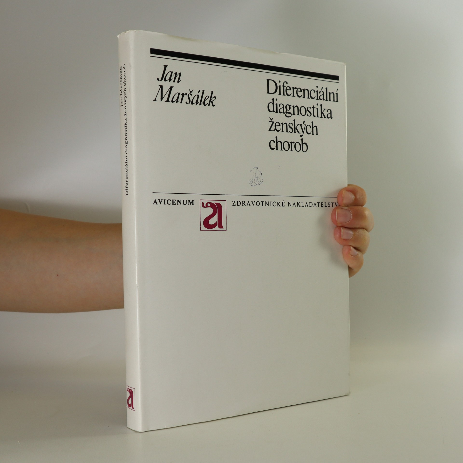 antikvární kniha Diferenciální diagnostika ženských chorob, 1973