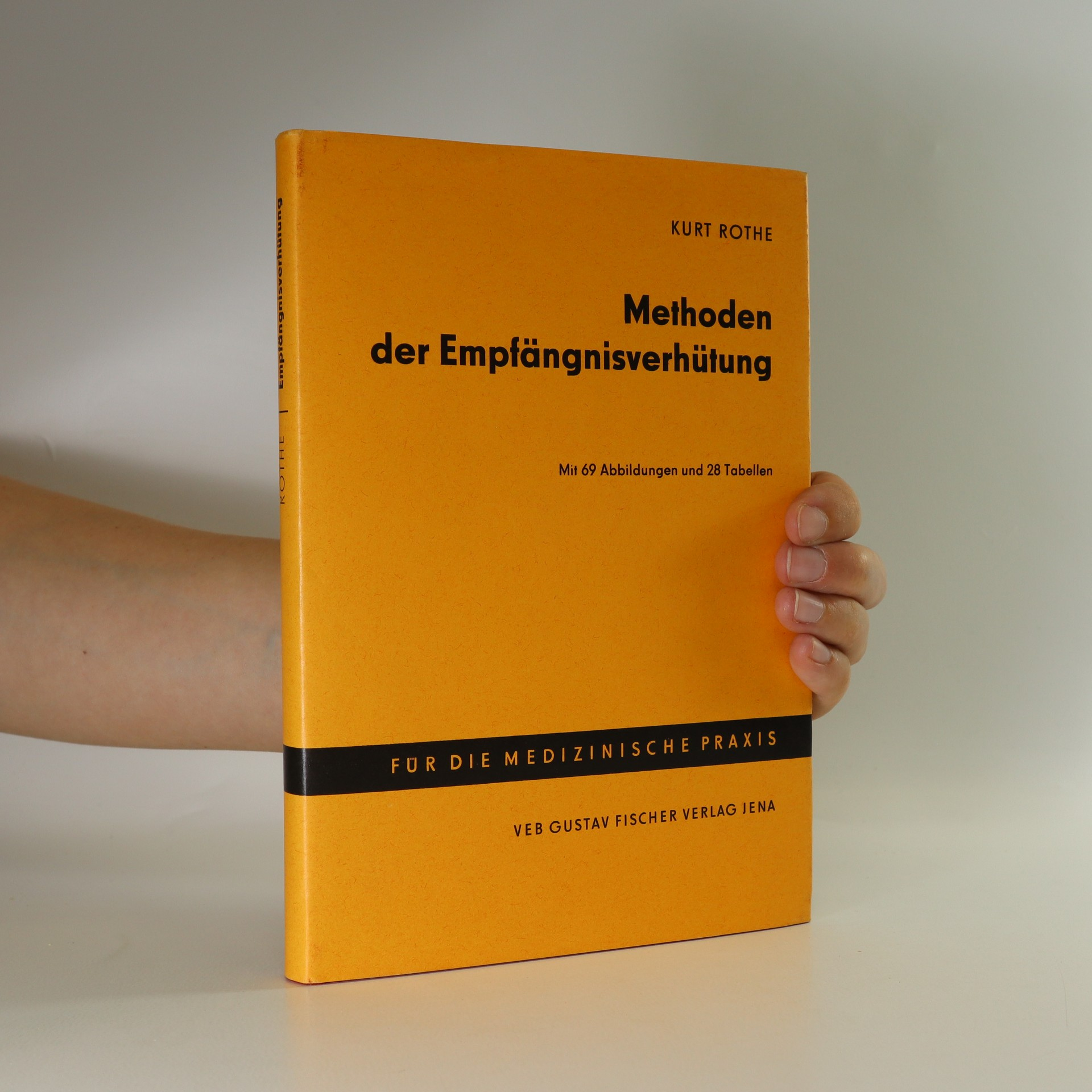 antikvární kniha Methoden der Empfängnisverhütung, 1973