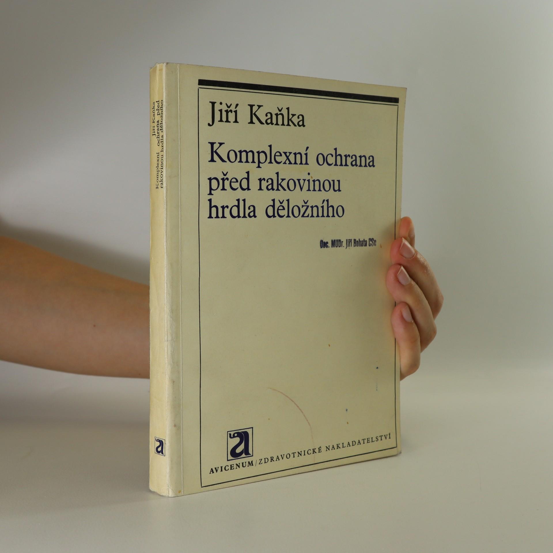 antikvární kniha Komplexní ochrana před rakovinou hrdla děložního, 1971