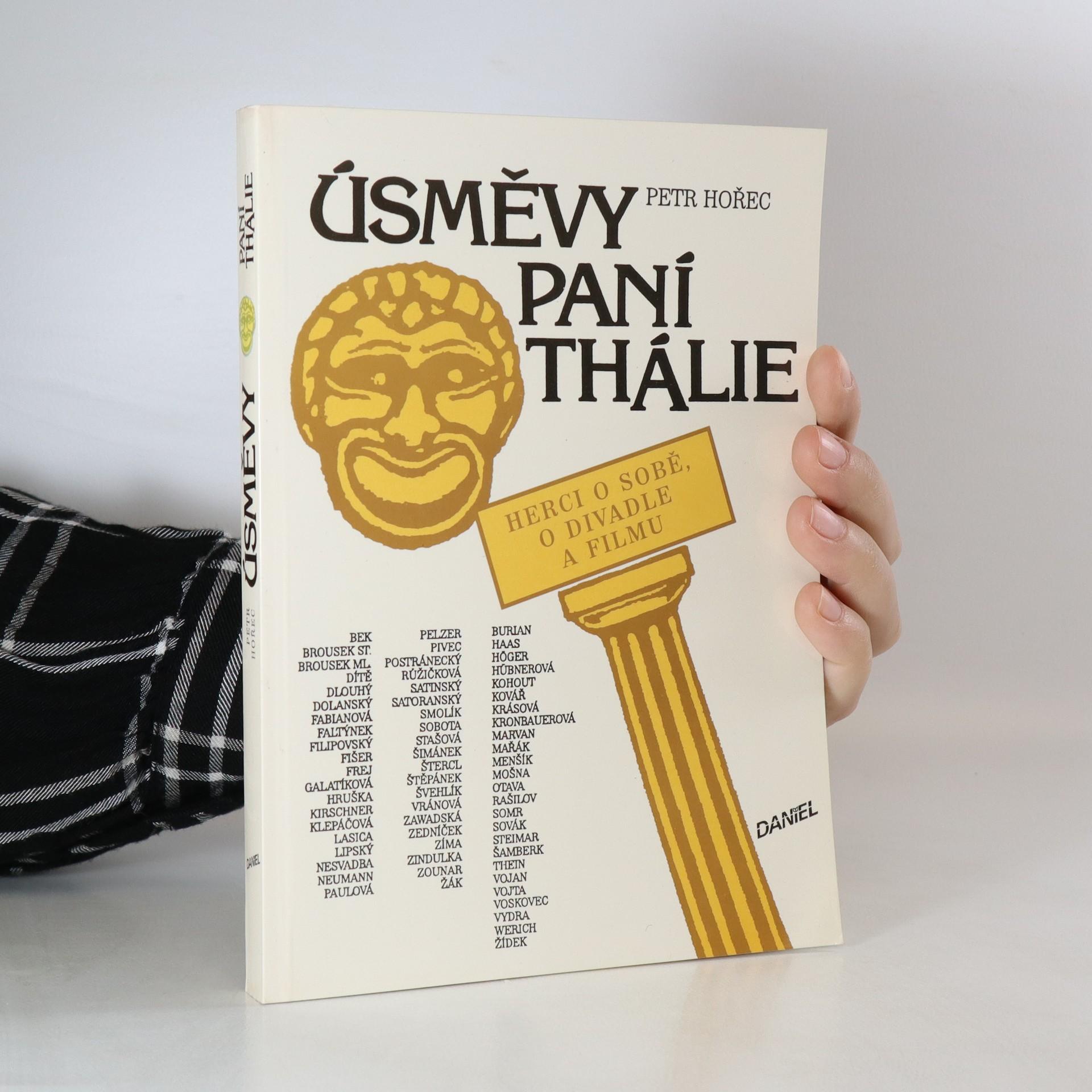 antikvární kniha Úsměvy paní Thálie, 1992