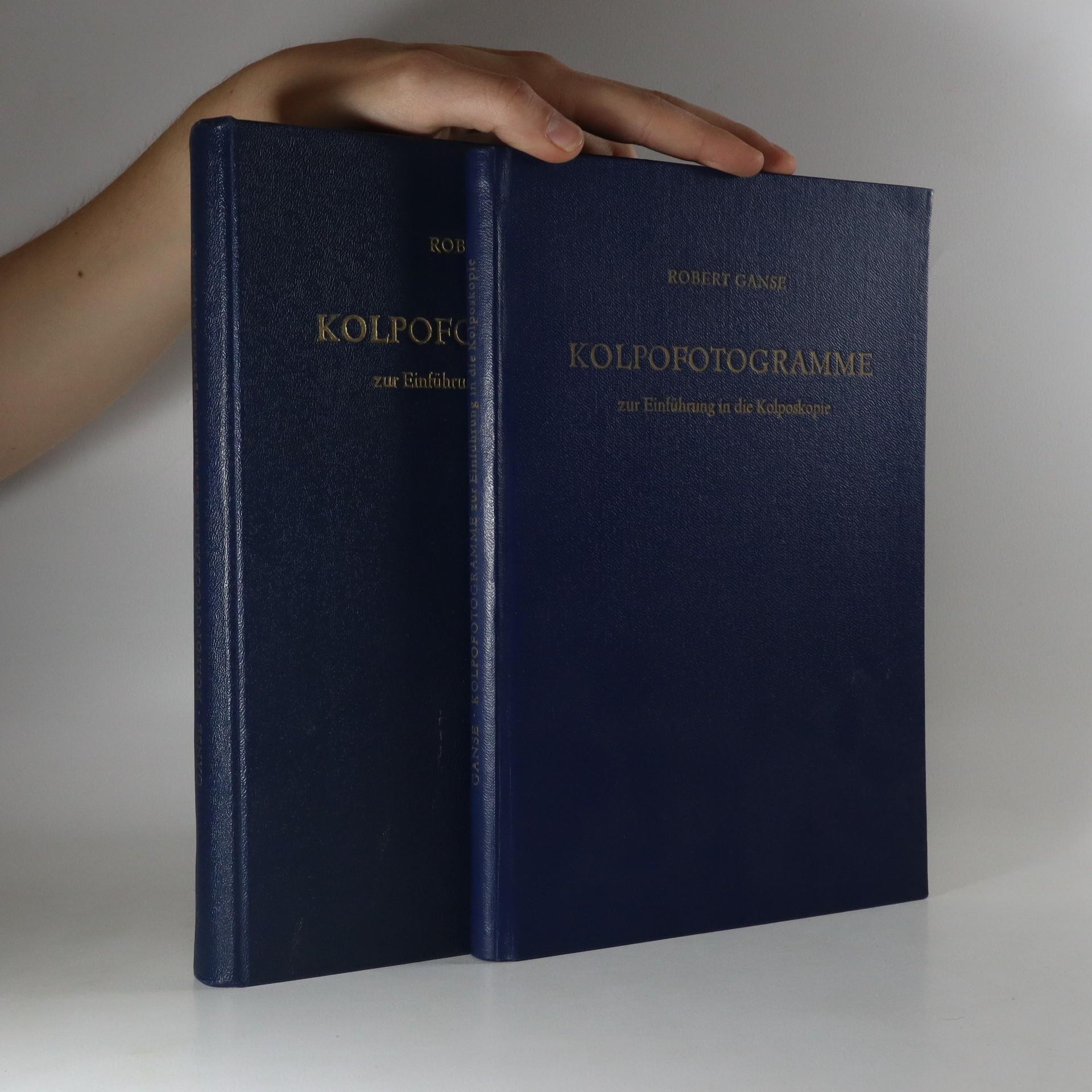antikvární kniha  Ganse, Robert Kolpofotogramme zur Einführung in die Kolposkopie (2 svazky), 1953
