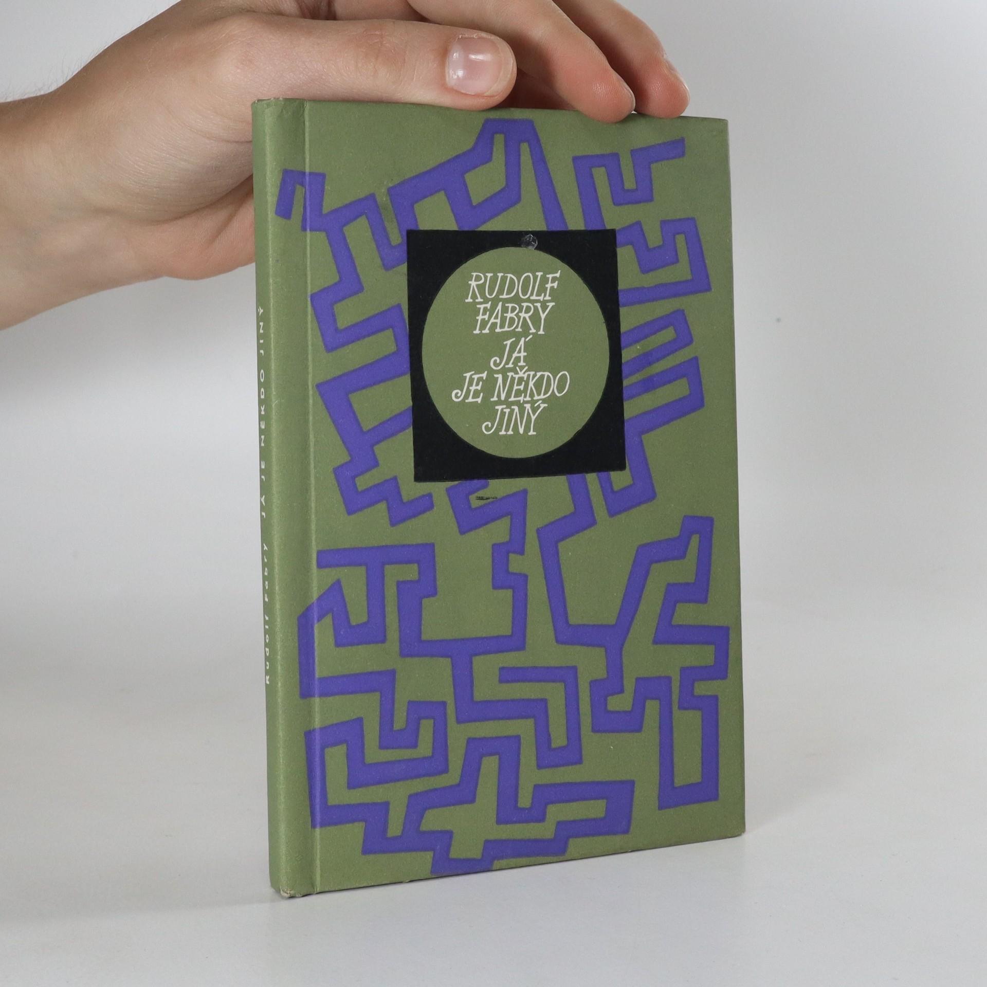 antikvární kniha Já je někdo jiný, 1971