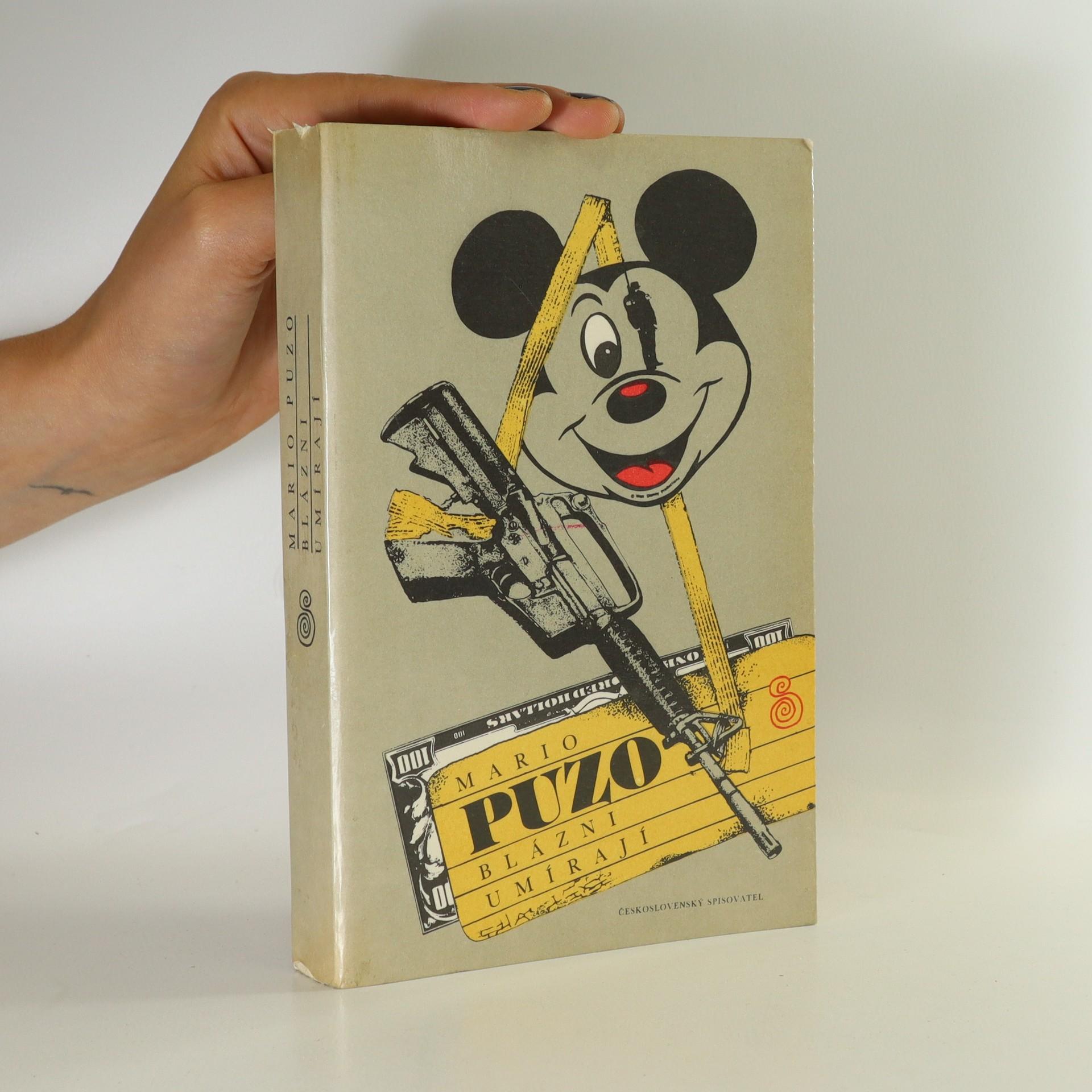 antikvární kniha Blázni umírají, 1989