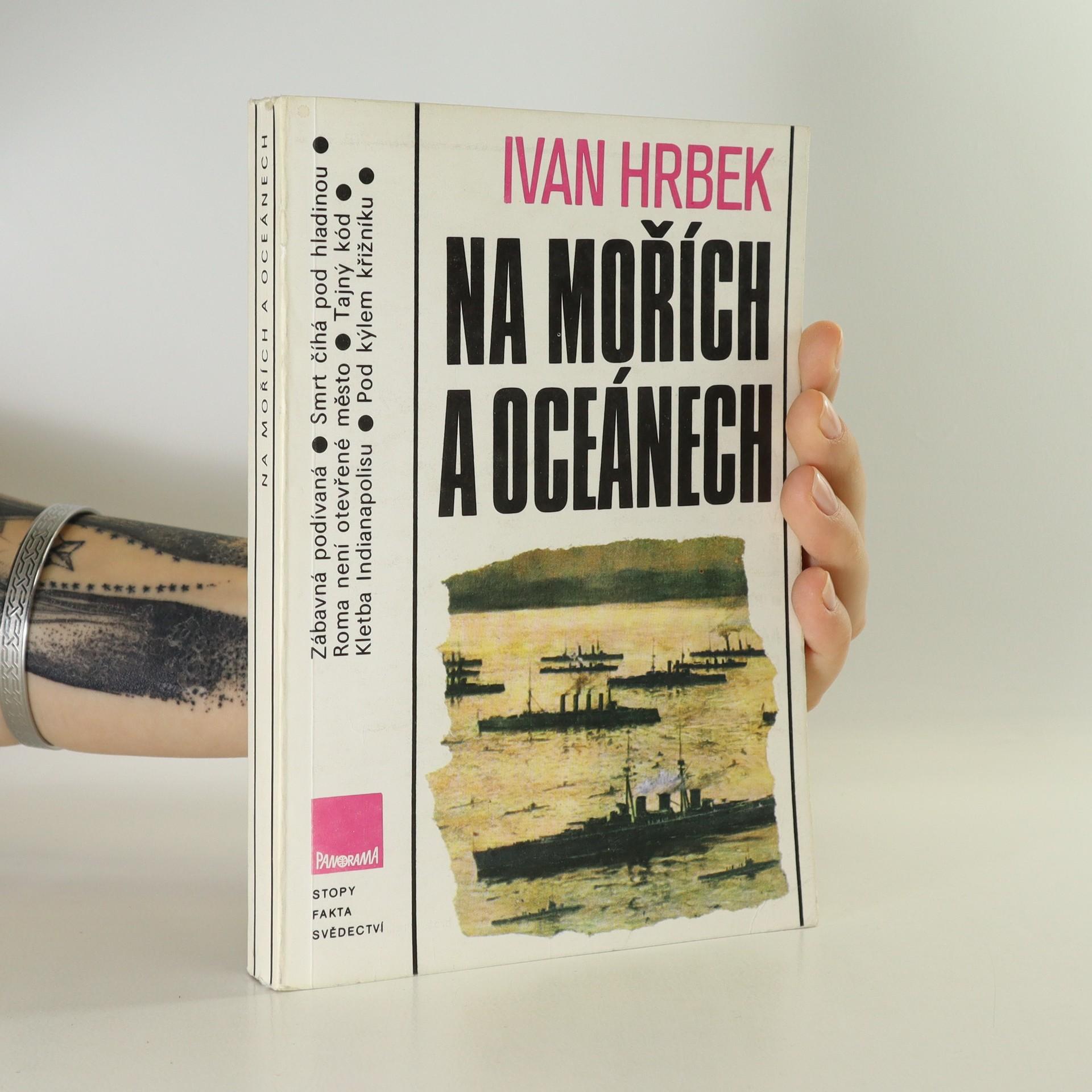 antikvární kniha Na mořích a oceánech, 1989