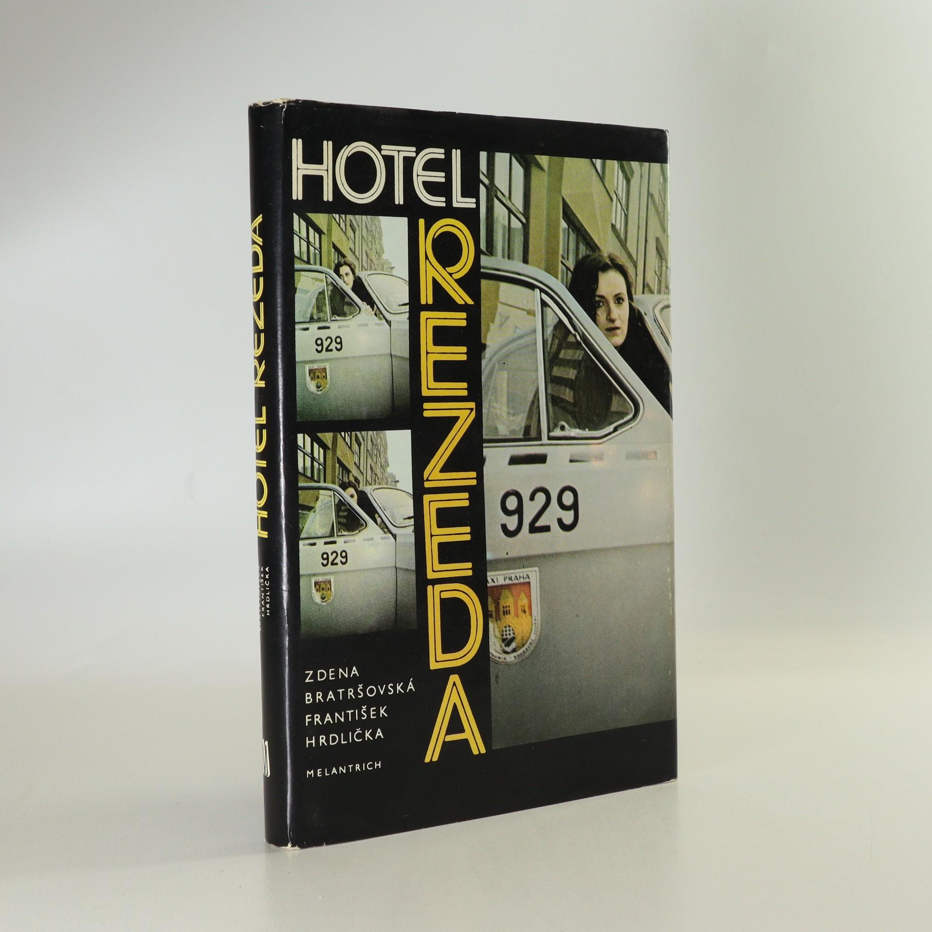 antikvární kniha Hotel Rezeda, 1987
