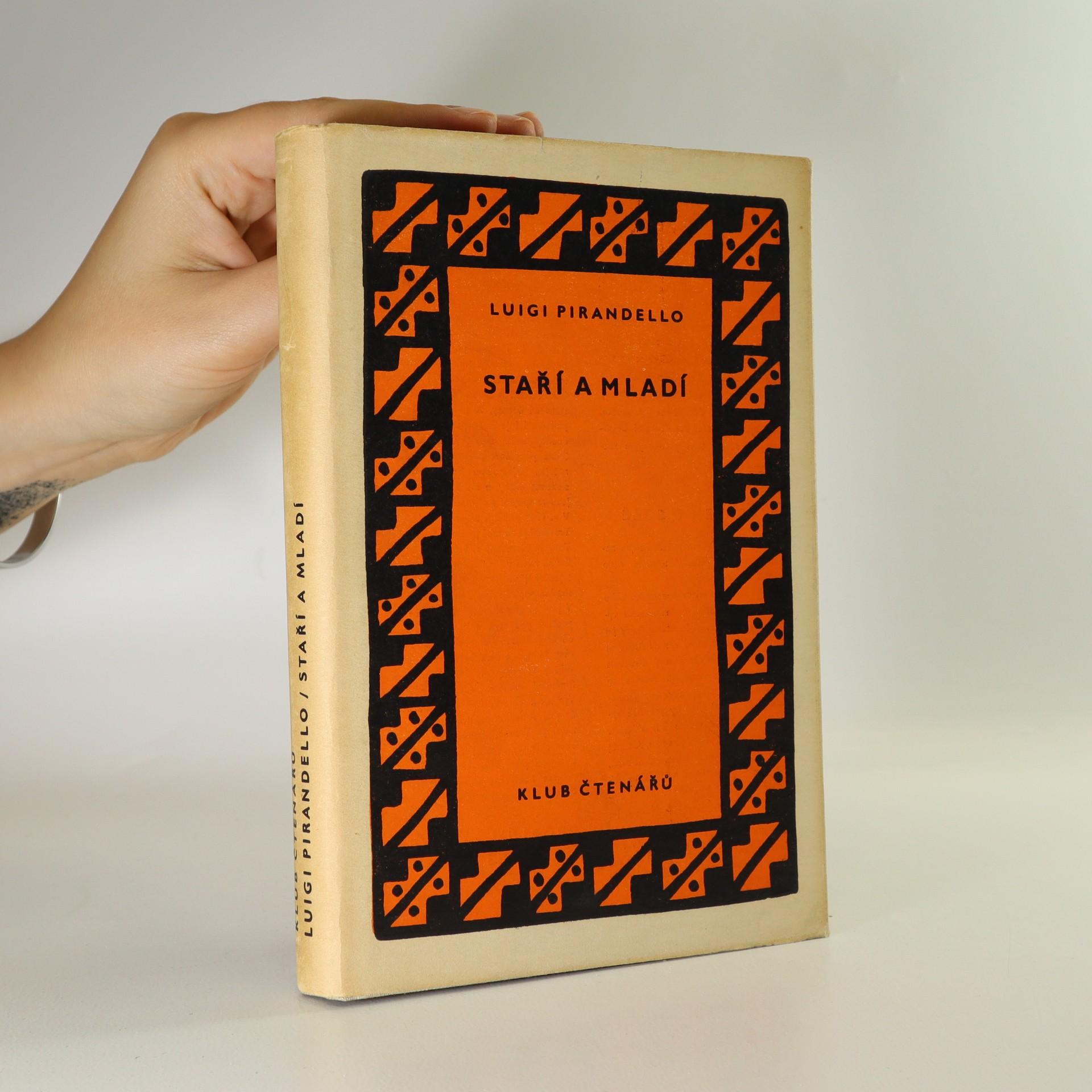 antikvární kniha Staří a mladí , 1958