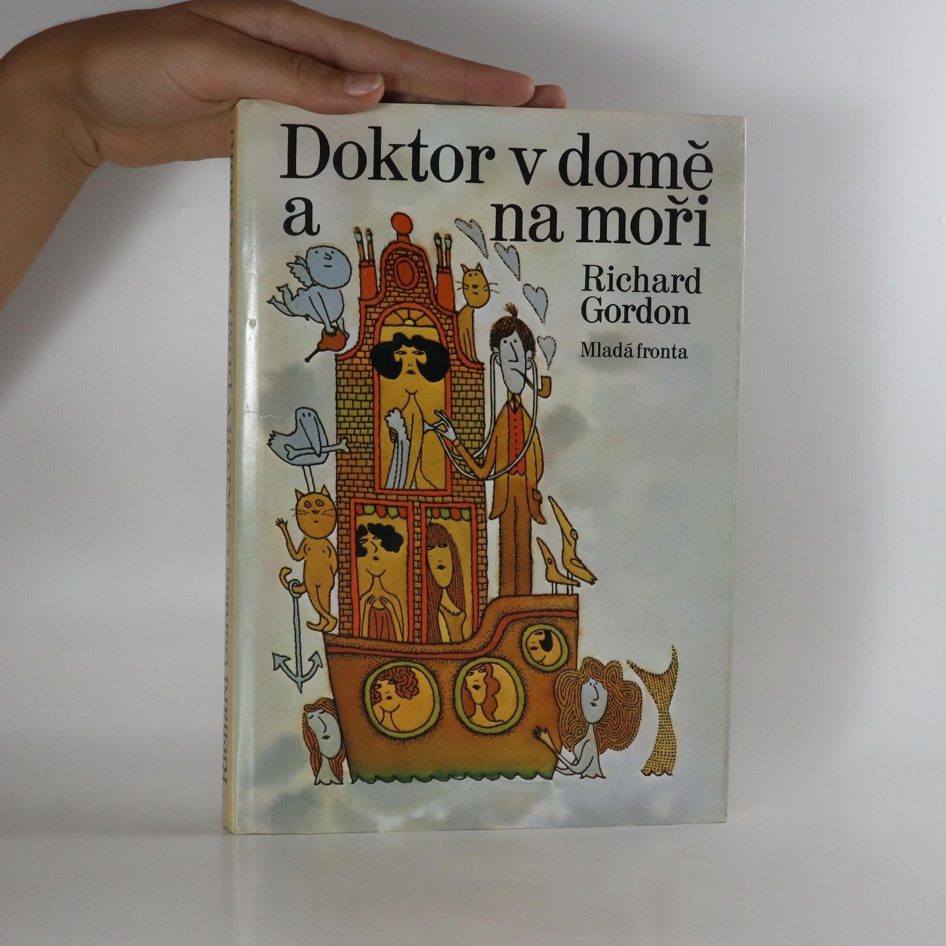 antikvární kniha Doktor v domě a na moři, 1978
