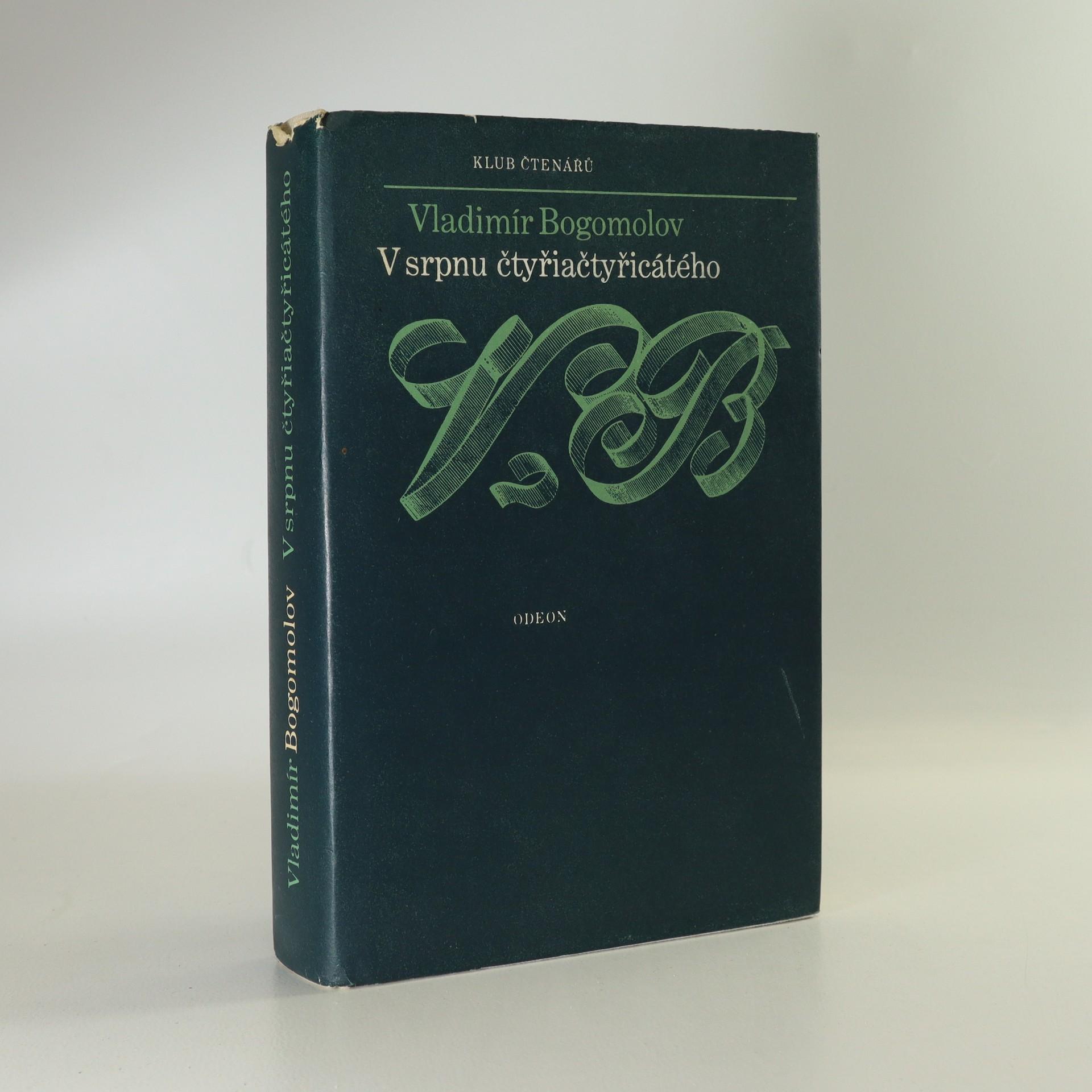 antikvární kniha V srpnu čtyřiačtyřicátého, 1979