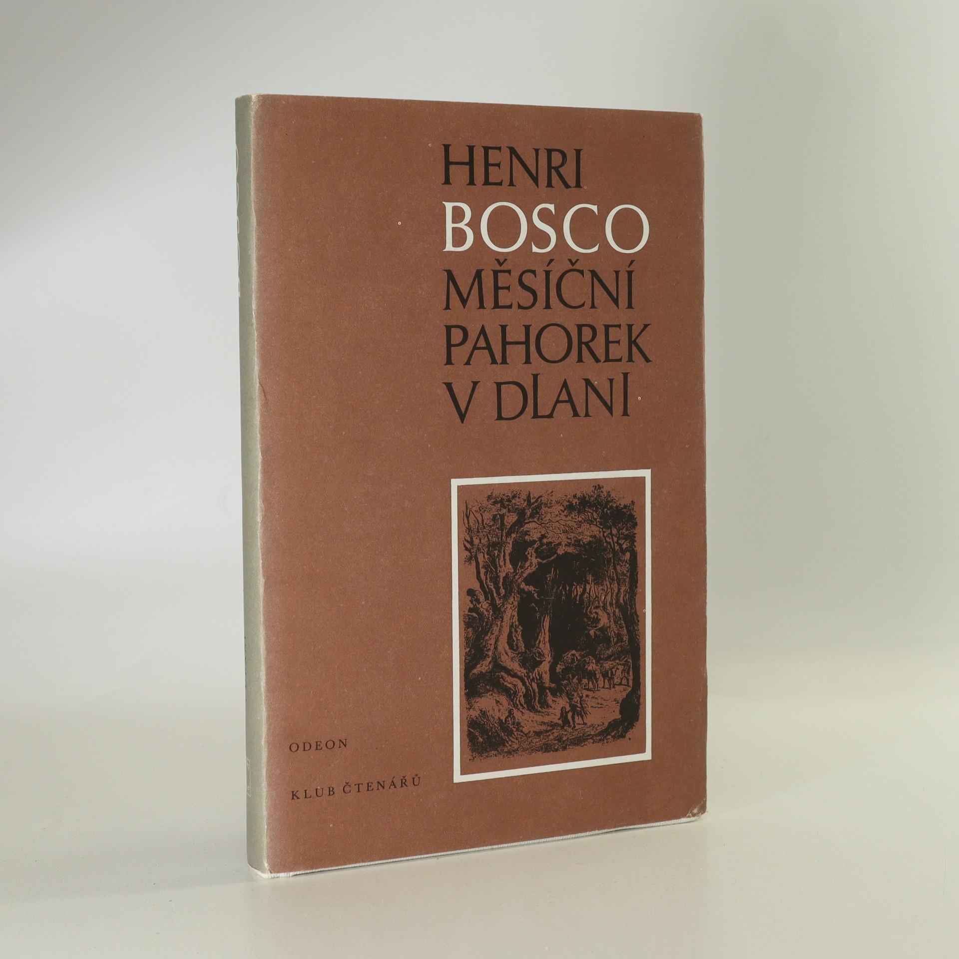 antikvární kniha Měsíční pahorek v dlani, 1987