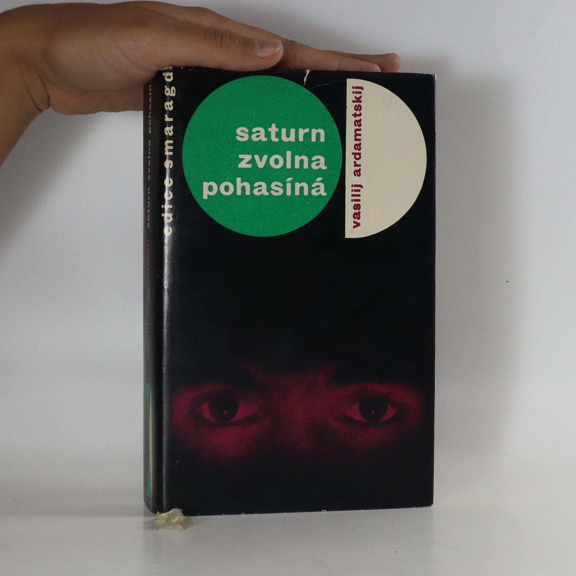 antikvární kniha Saturn zvolna pohasíná, 1965