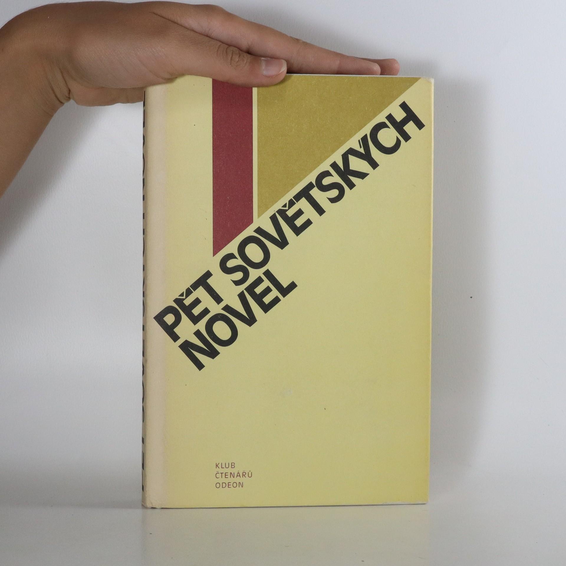 antikvární kniha Pět sovětských novel, 1980